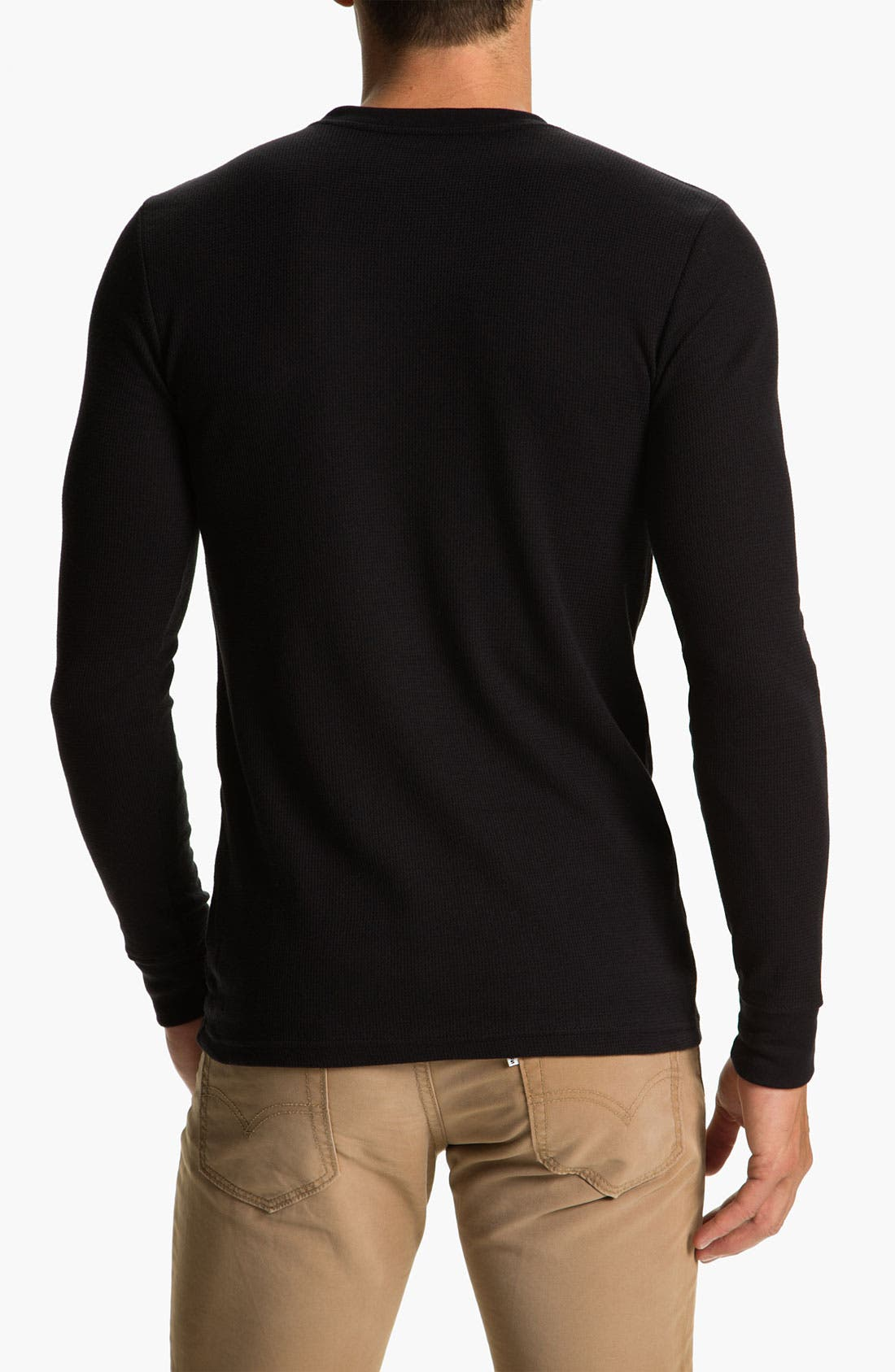 Alternate Image 2  - Hurley 'D-Stress' Thermal Shirt