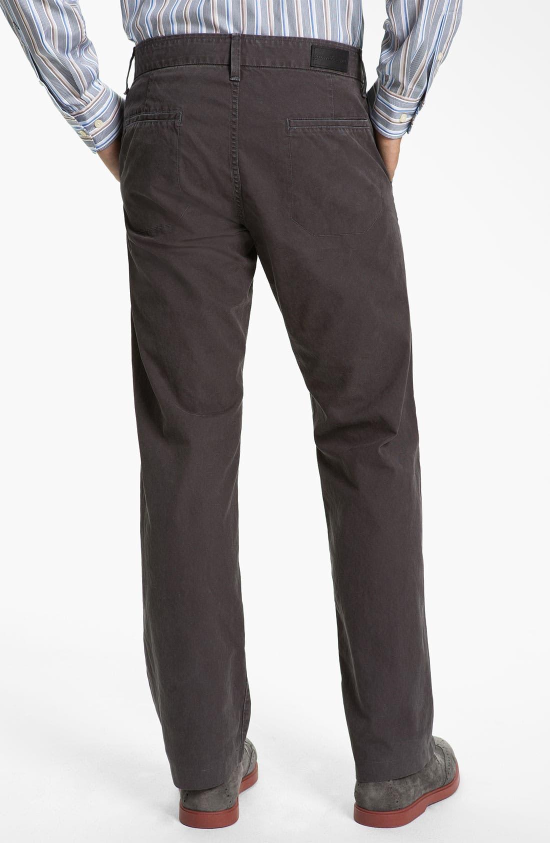 Alternate Image 2  - Grown & Sewn 'Legend' Straight Leg Twill Pants