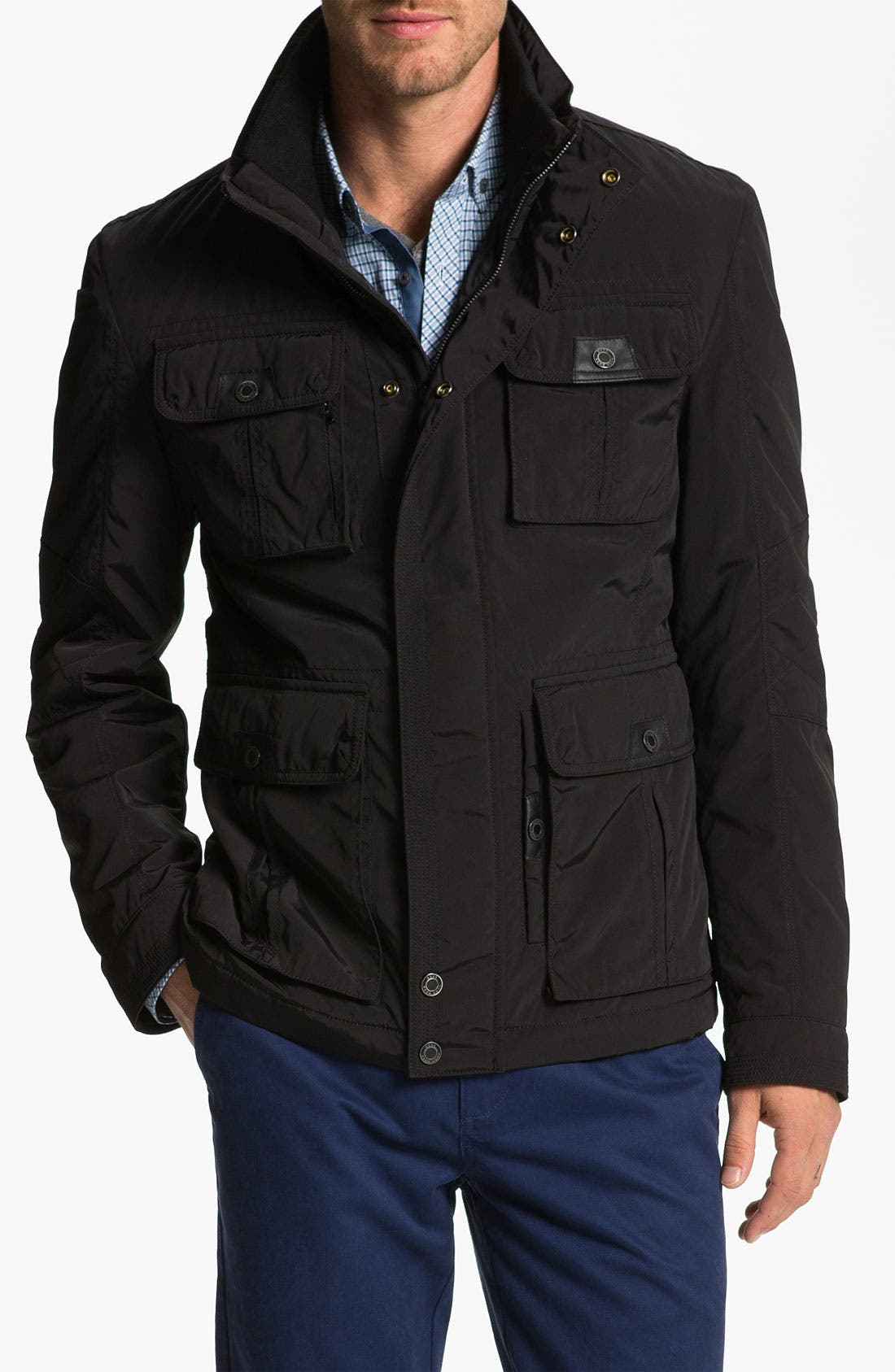 Main Image - BOSS Black 'Cosey' Trim Fit Jacket