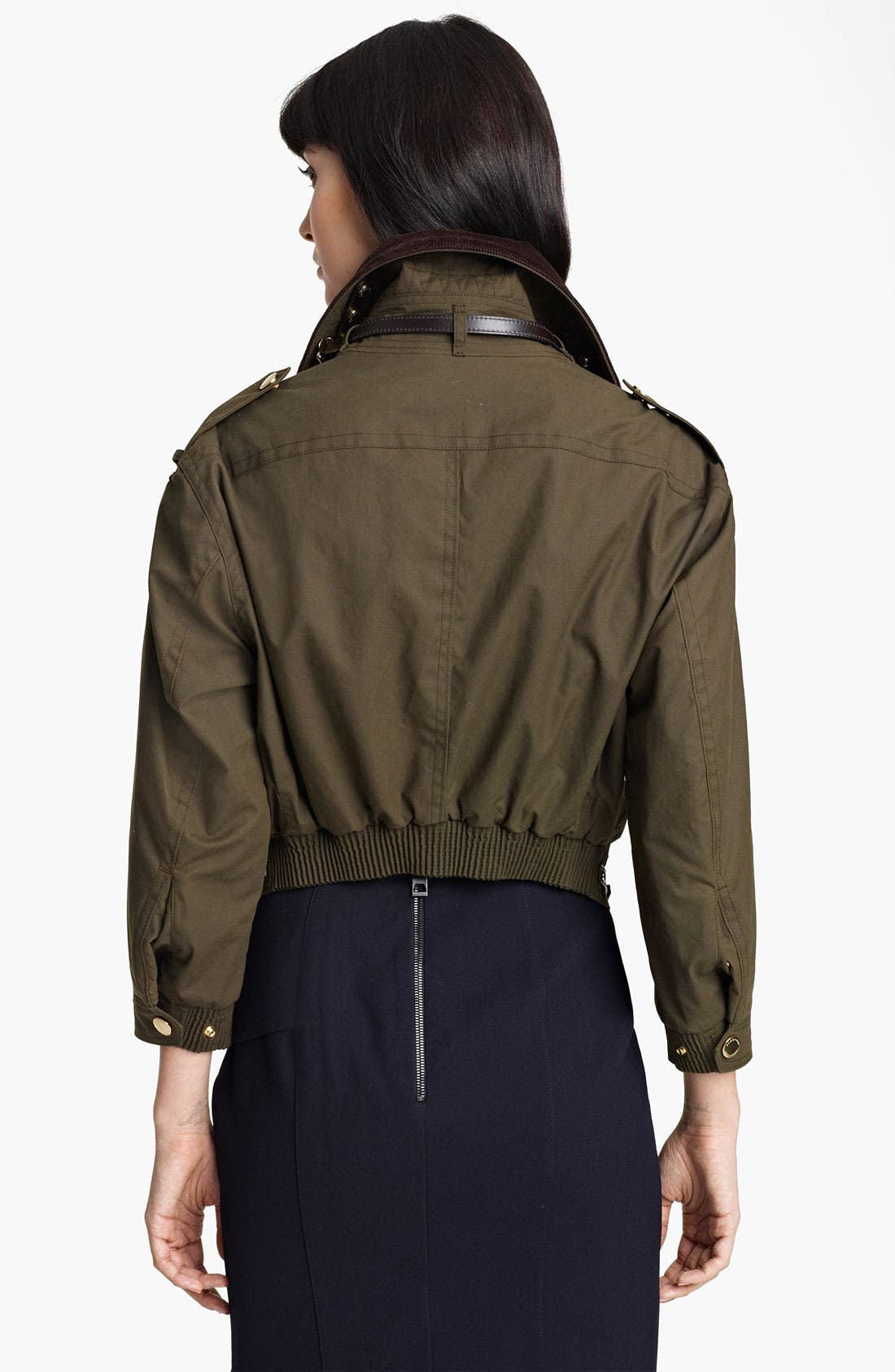 Alternate Image 2  - Burberry Prorsum Waxed Cotton Jacket