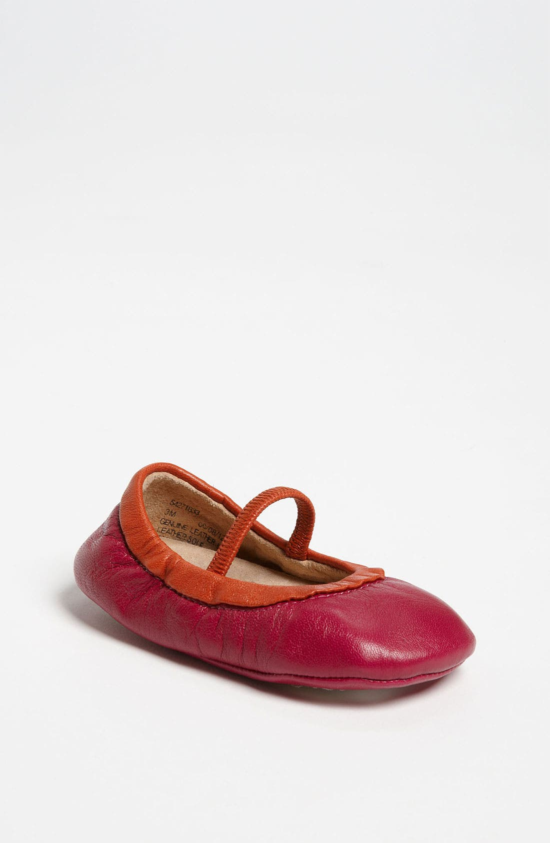 Alternate Image 1 Selected - Peek 'Prose' Crib Shoe (Baby)