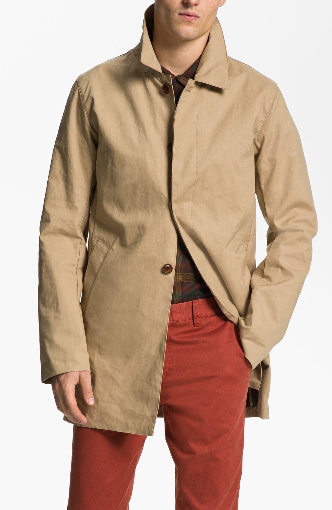 Main Image - Scotch & Soda 'Monsieur' Half Long Trench Coat
