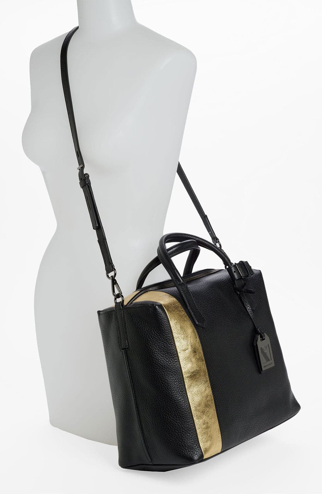Alternate Image 2  - Reed Krakoff 'Gym Bag' Leather Satchel