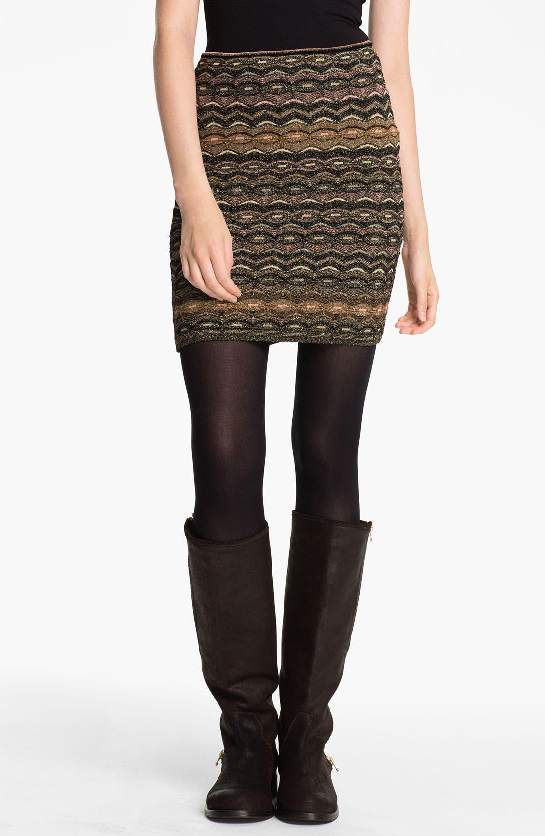 Main Image - M Missoni Zigzag Tube Skirt