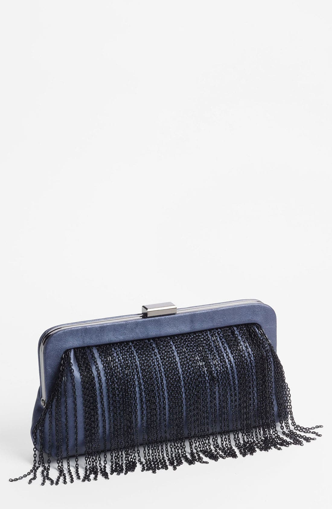 Alternate Image 1 Selected - Big Buddha Fringe Clutch