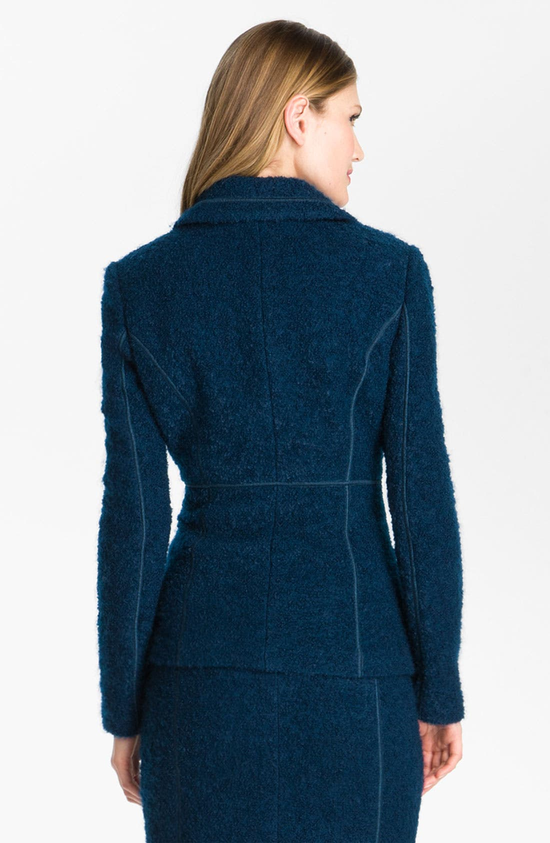 Alternate Image 3  - St. John Collection Double Breasted Bouclé Jacket