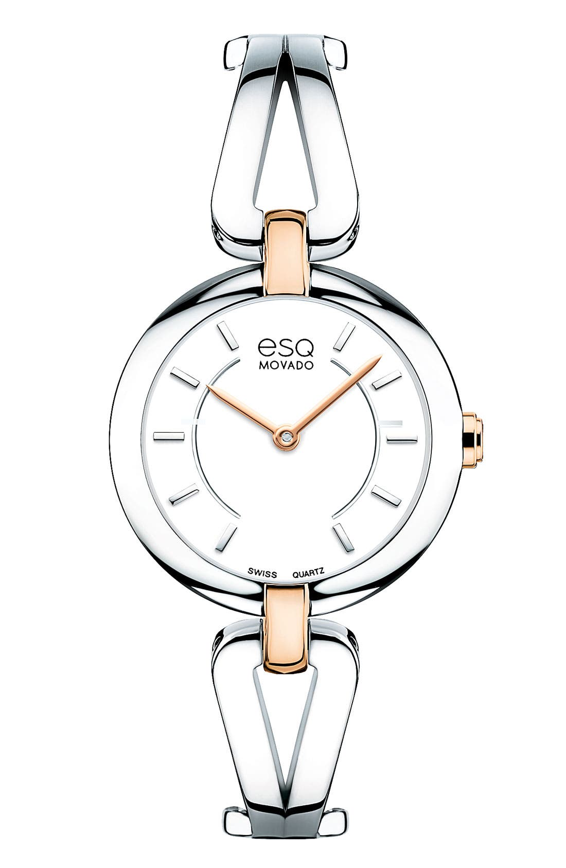 Alternate Image 1 Selected - ESQ Movado 'Corbel' Round Bangle Watch
