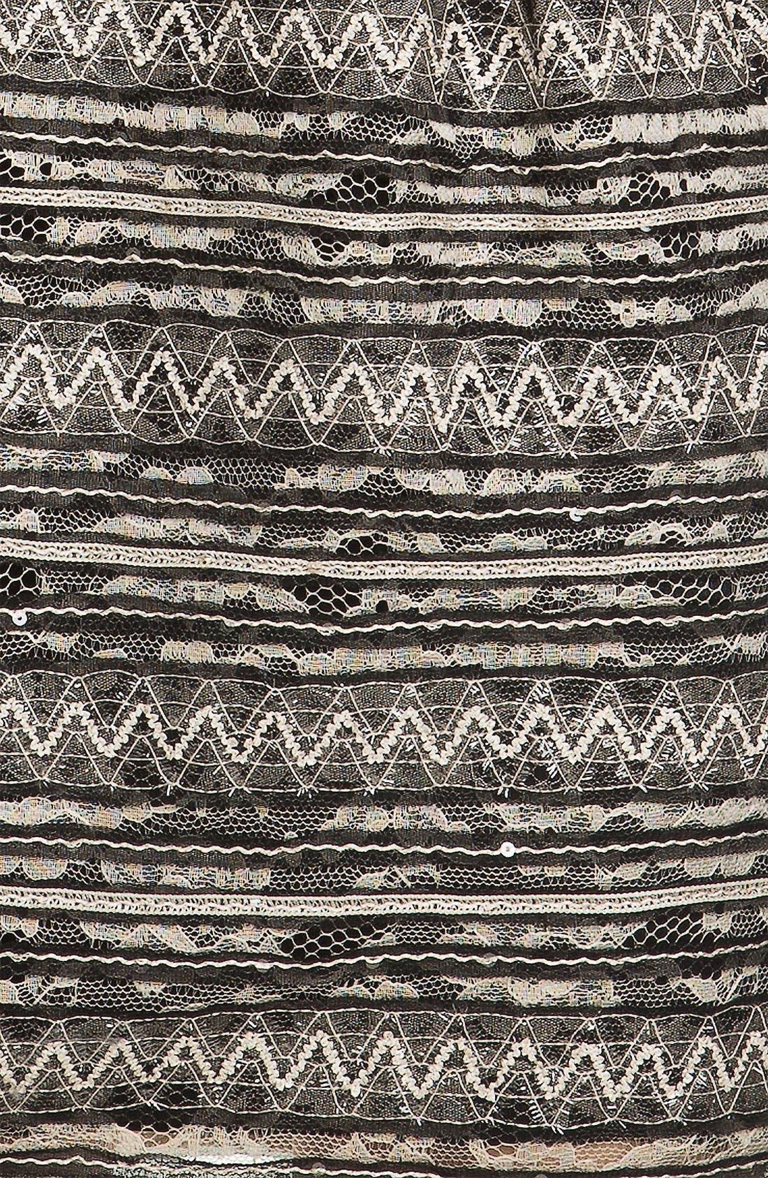 Alternate Image 3  - Nanette Lepore 'Starfest' Belted Lace Sheath Dress