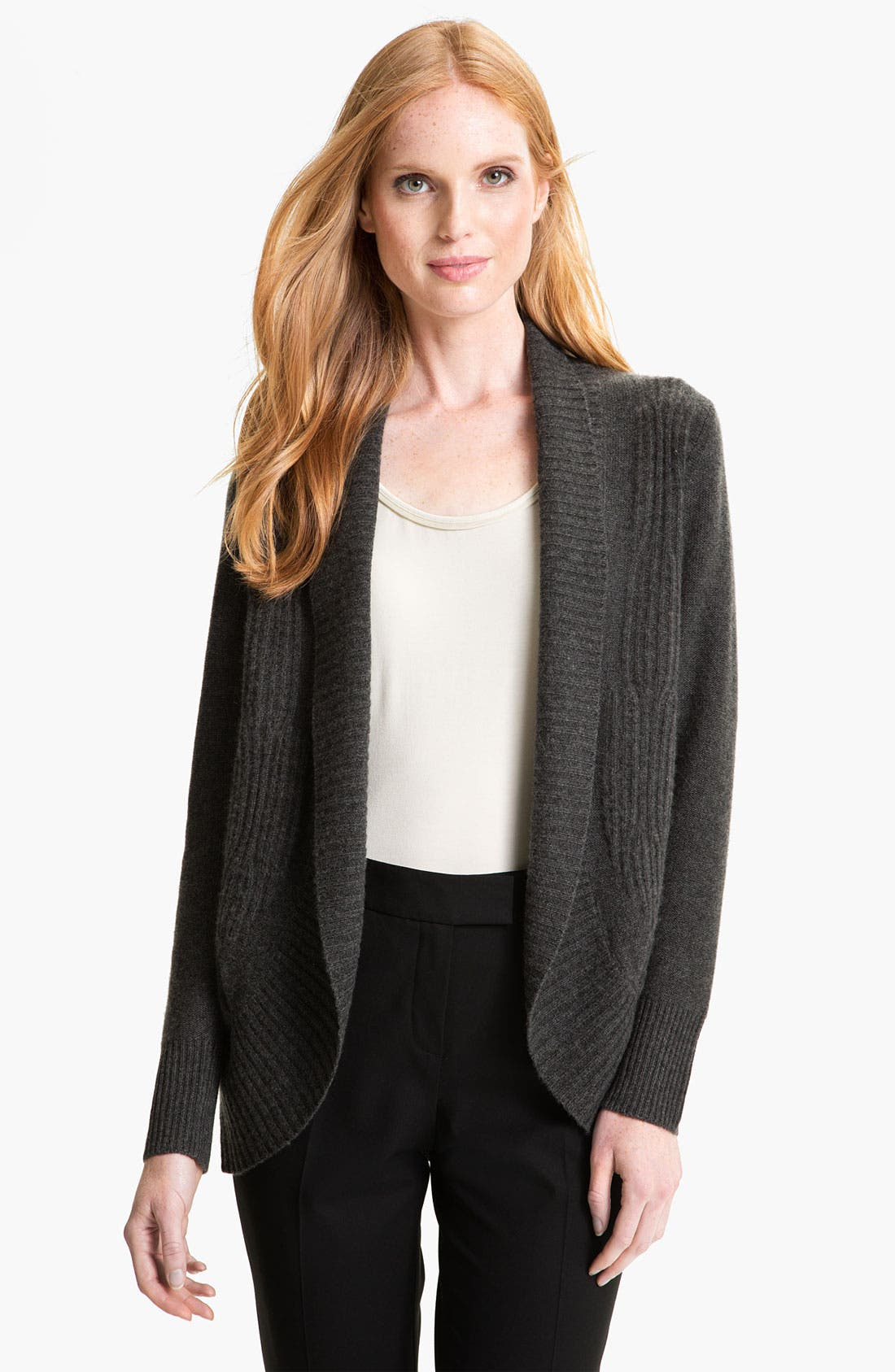 Alternate Image 1 Selected - Nordstrom Collection Shawl Collar Cashmere Cardigan