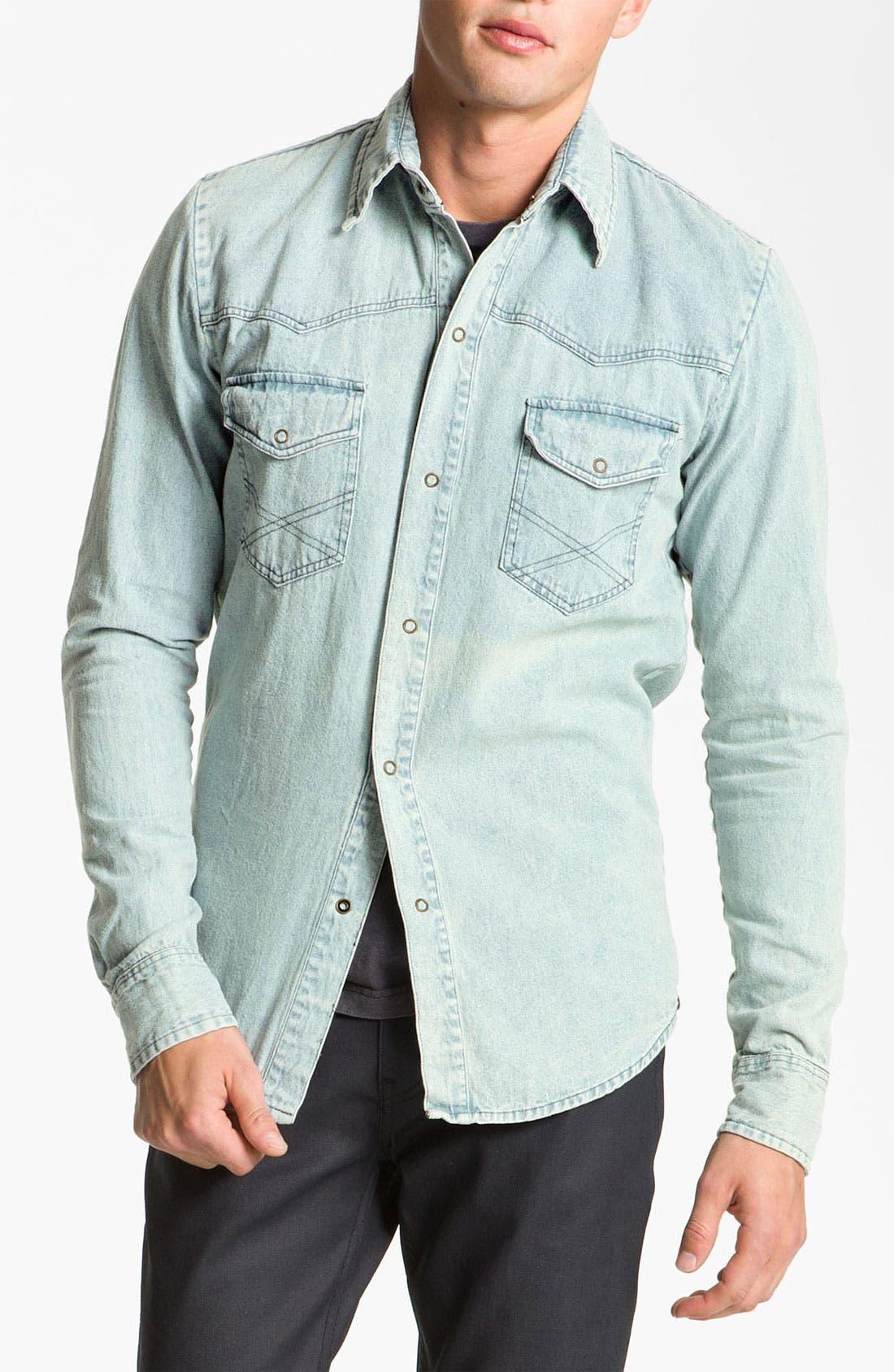 Alternate Image 1 Selected - Vanguard Western Denim Shirt