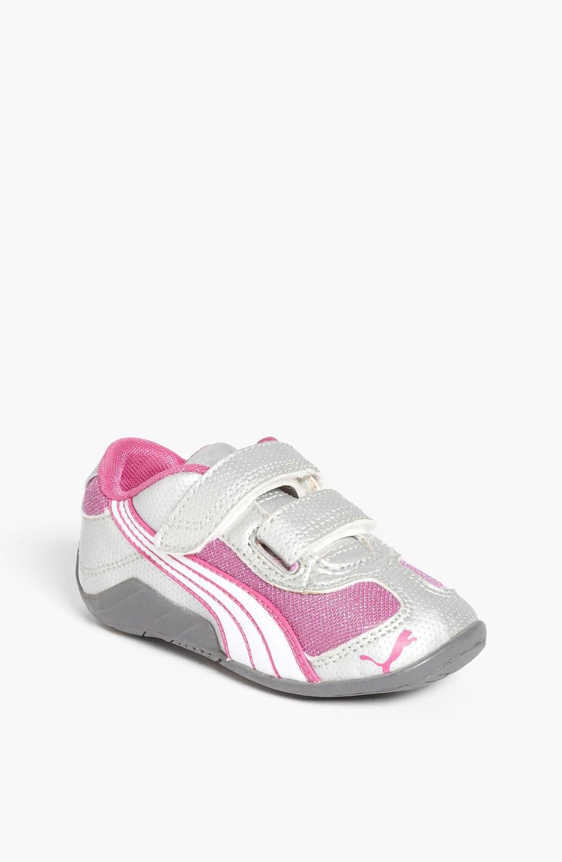 Alternate Image 1 Selected - PUMA 'Millennius Glitter' Sneaker (Baby, Walker & Toddler)