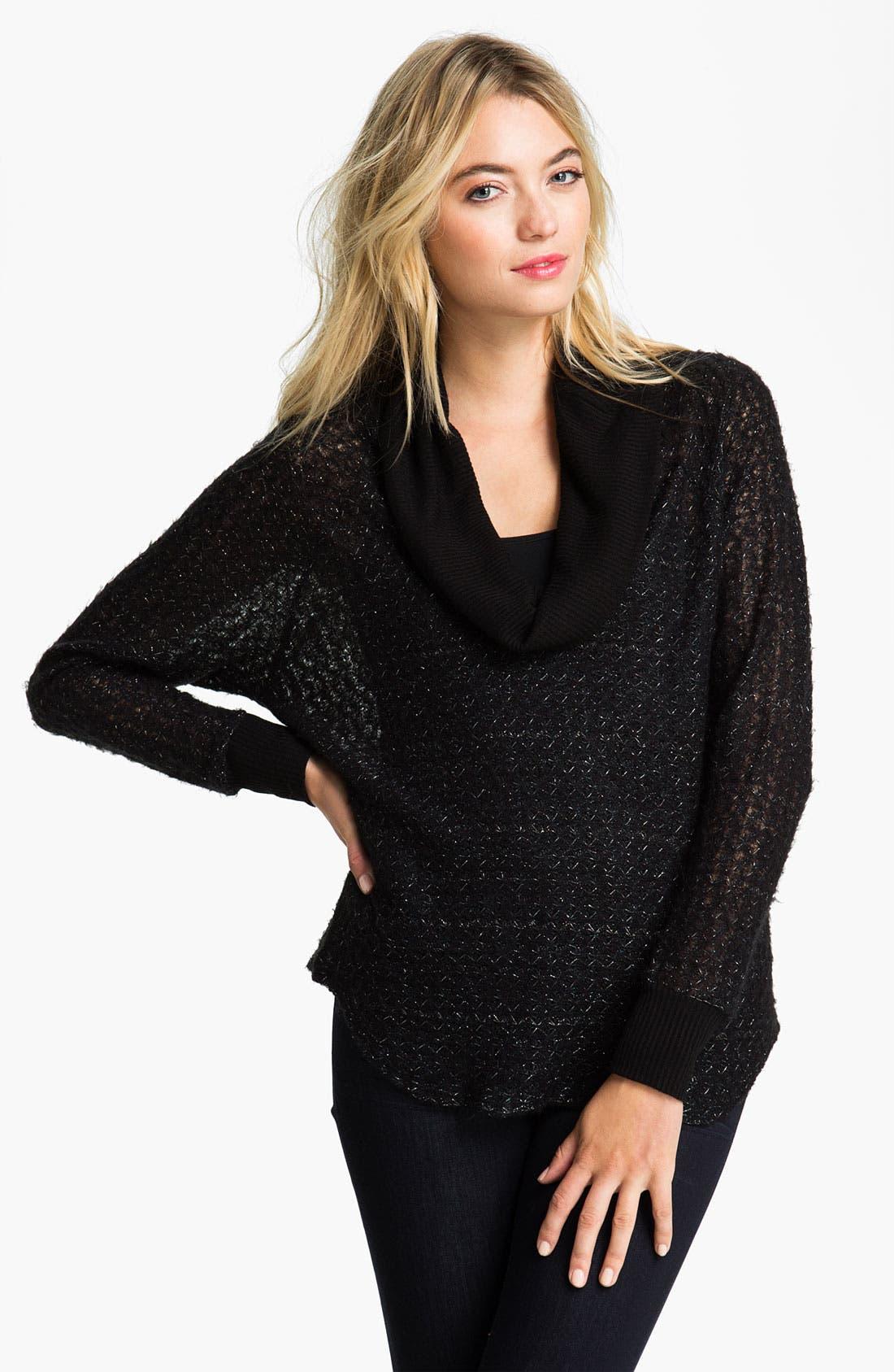 Alternate Image 1 Selected - Ella Moss 'Rochelle' Cowl Neck Sweater