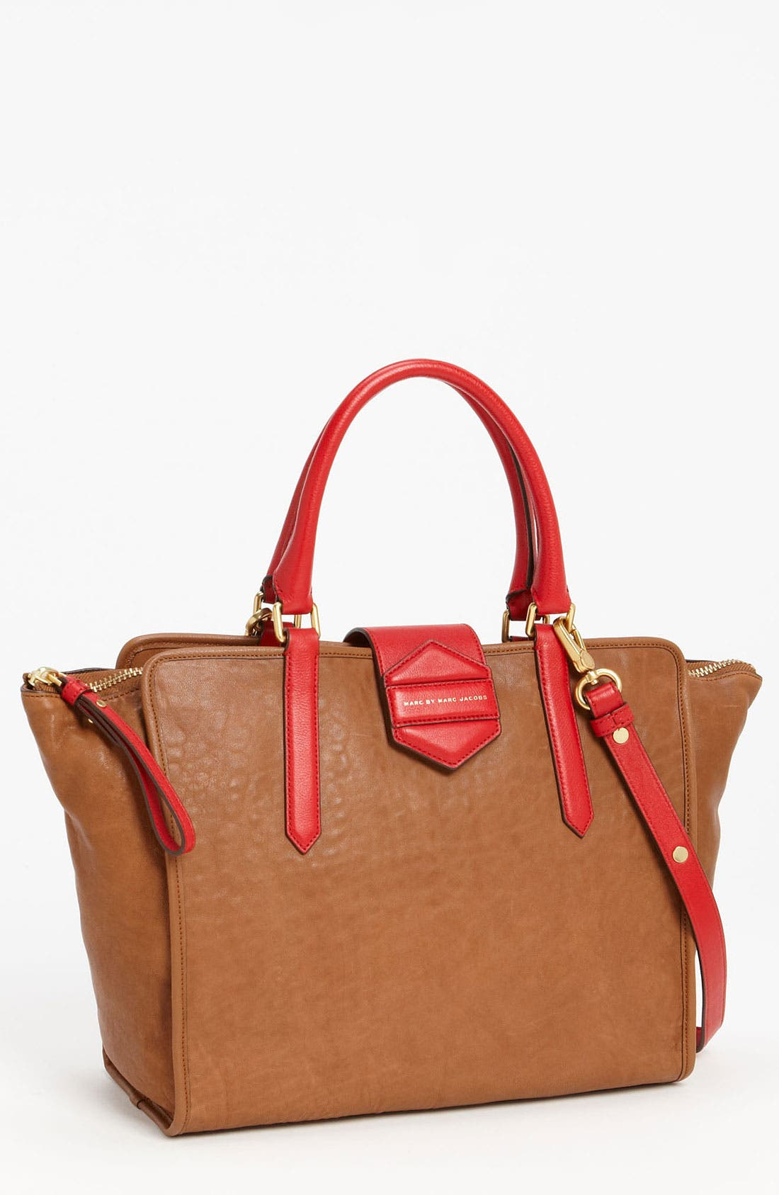 Alternate Image 1 Selected - MARC BY MARC JACOBS 'Flipping Out' Leather Tote