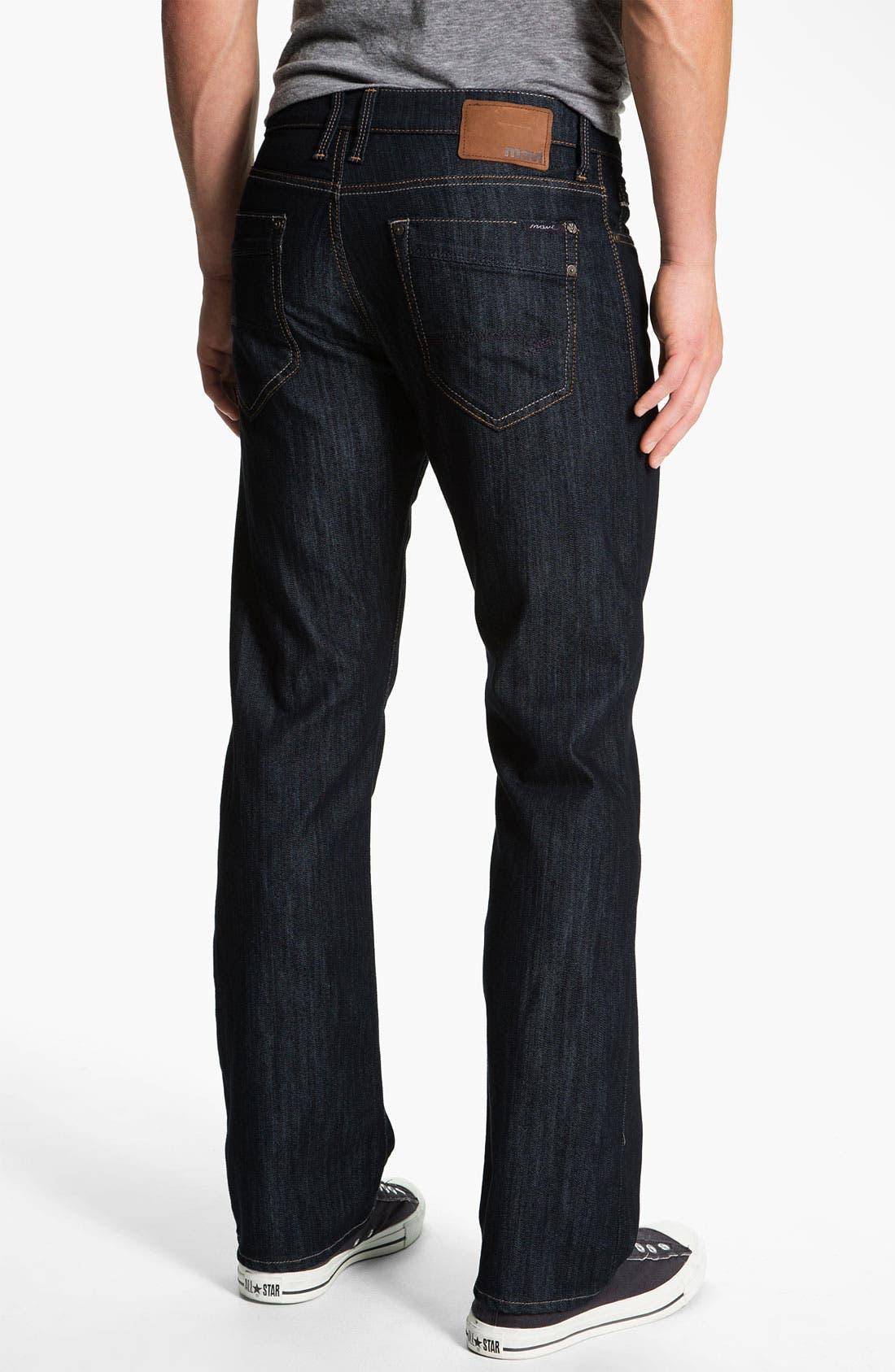 Main Image - Mavi Jeans 'Matt' Relaxed Straight Leg Jeans (Kensington)