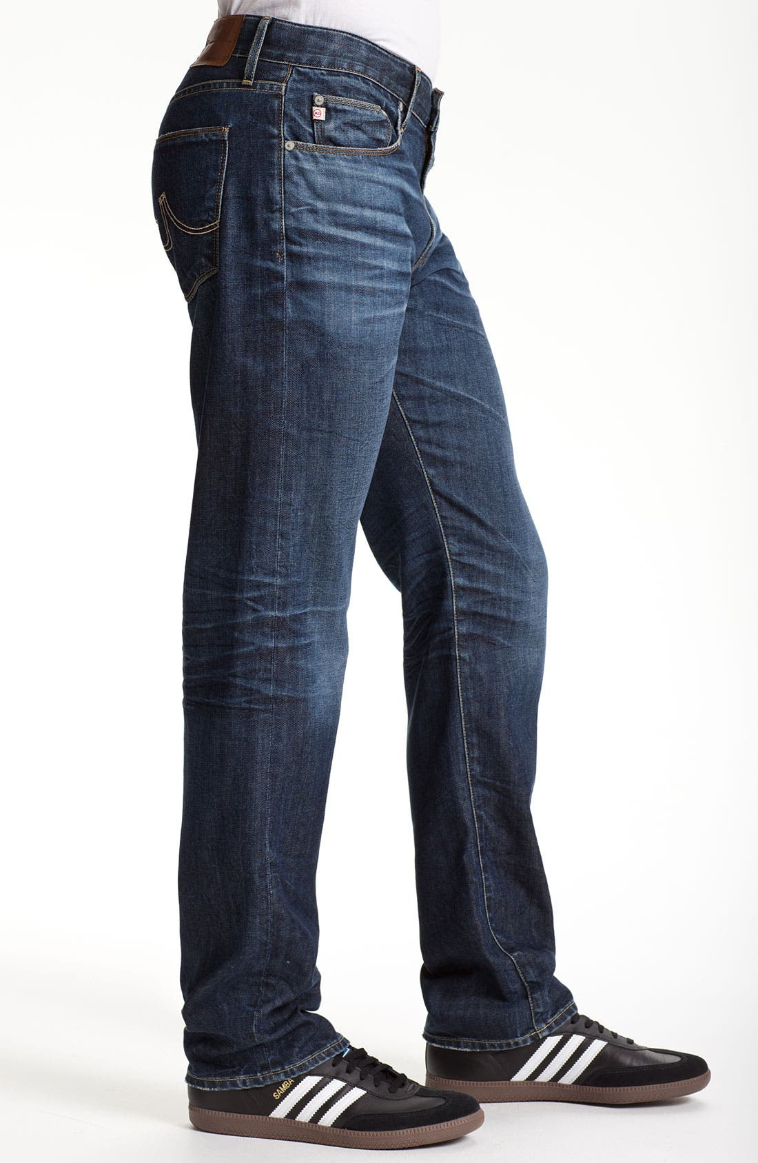 Alternate Image 3  - AG 'Geffen Easy Slim' Straight Leg Jeans (7 Year Lounge)