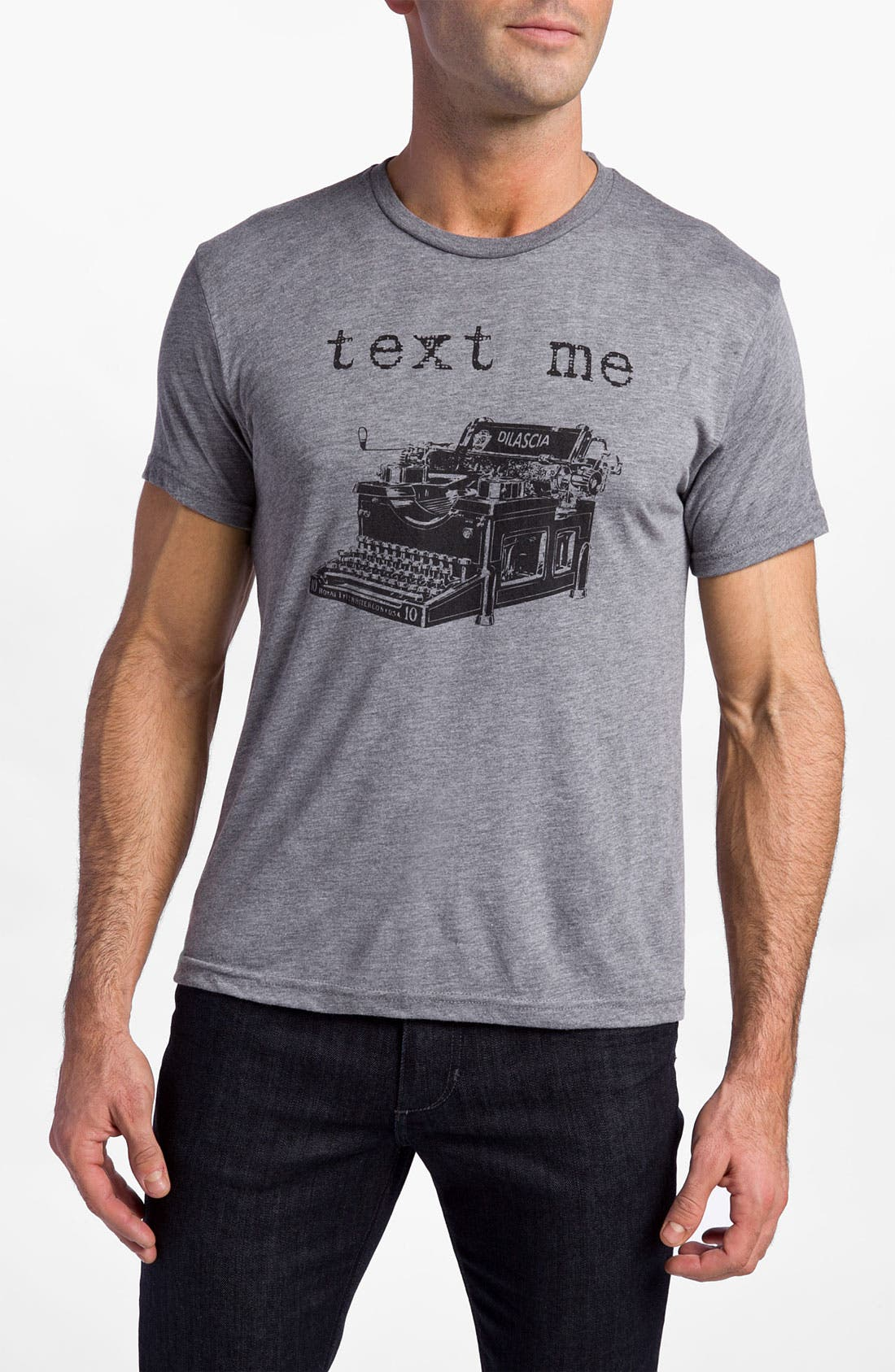 Alternate Image 1 Selected - DiLascia 'Text Me' T-Shirt