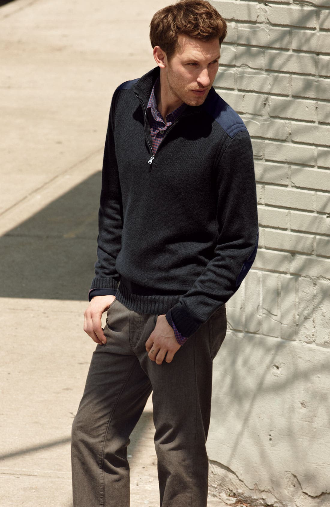 Alternate Image 4  - BOSS Black 'Ronny' Slim Fit Sport Shirt