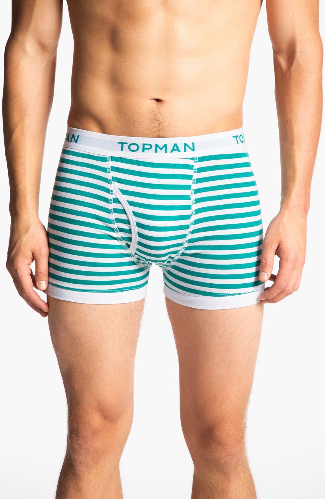 Alternate Image 6  - Topman Stripe Boxer Briefs (3-Pack)