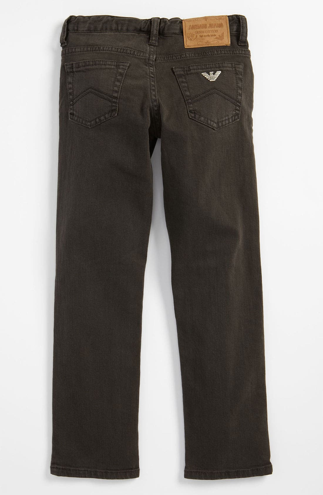Main Image - Armani Junior Straight Leg Jeans (Little Boys)