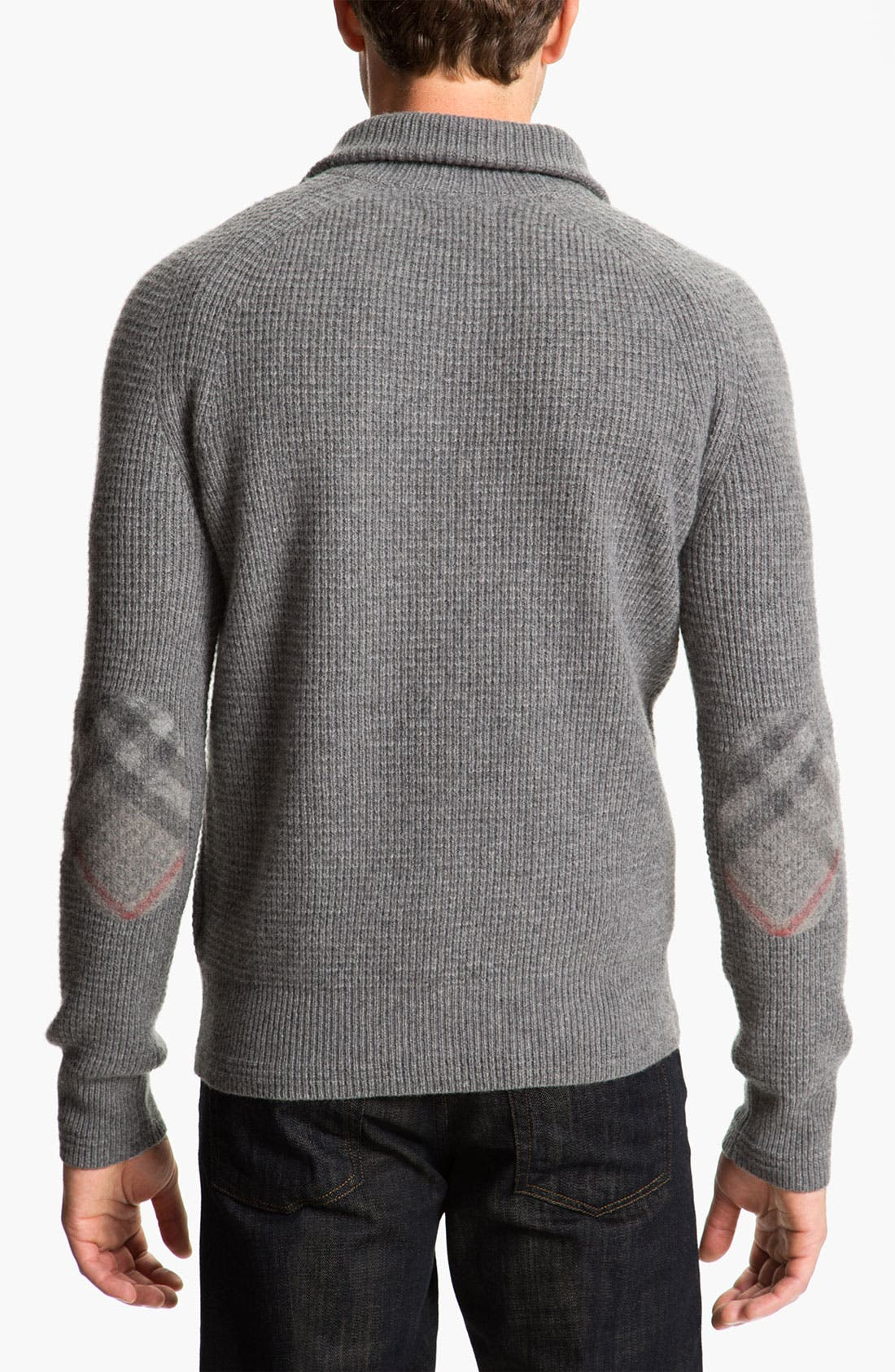 Alternate Image 2  - Burberry Brit Thermal Henley Sweater