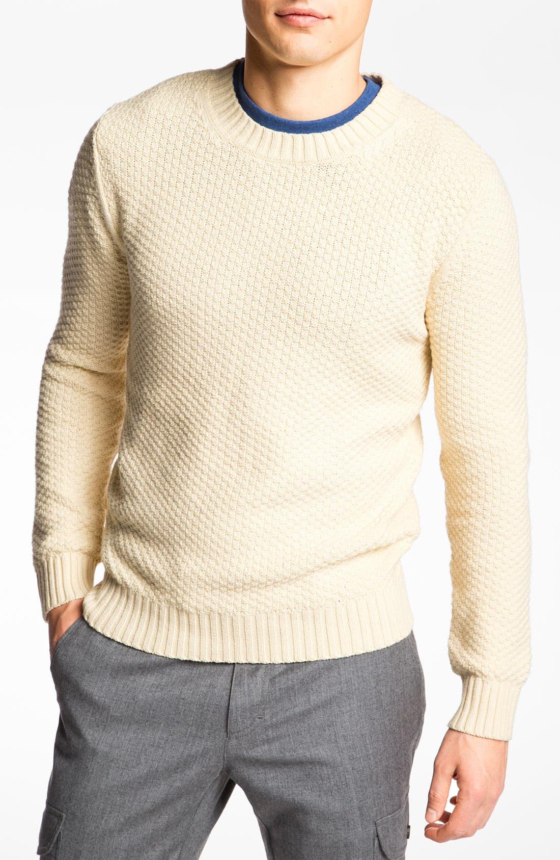 Alternate Image 1 Selected - Gant Rugger 'Pineapple Knit' Sweater