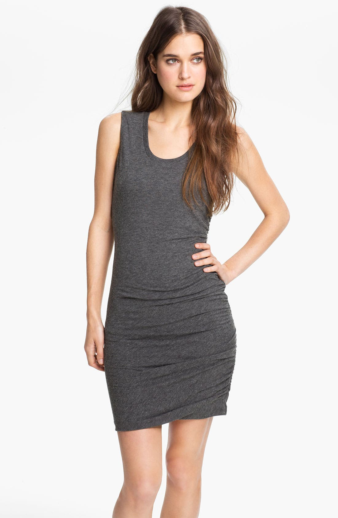 Main Image - Velvet by Graham & Spencer Ruched Tank Dress (Nordstrom Exclusive)