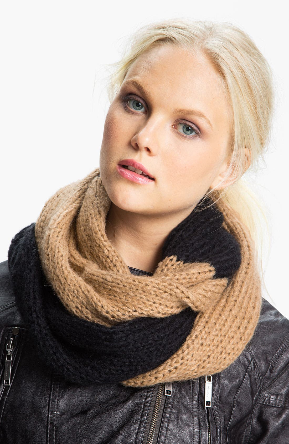 Alternate Image 1 Selected - MICHAEL Michael Kors Two Tone Infinity Scarf