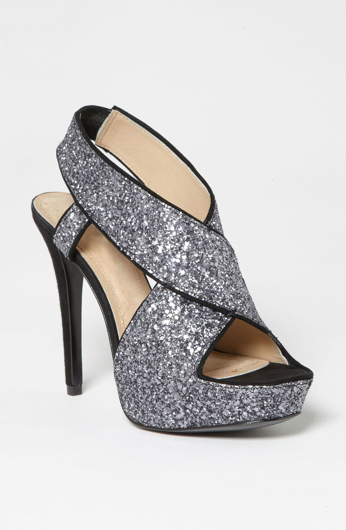 Alternate Image 1 Selected - Diane von Furstenberg 'Zia' Glitter Sandal