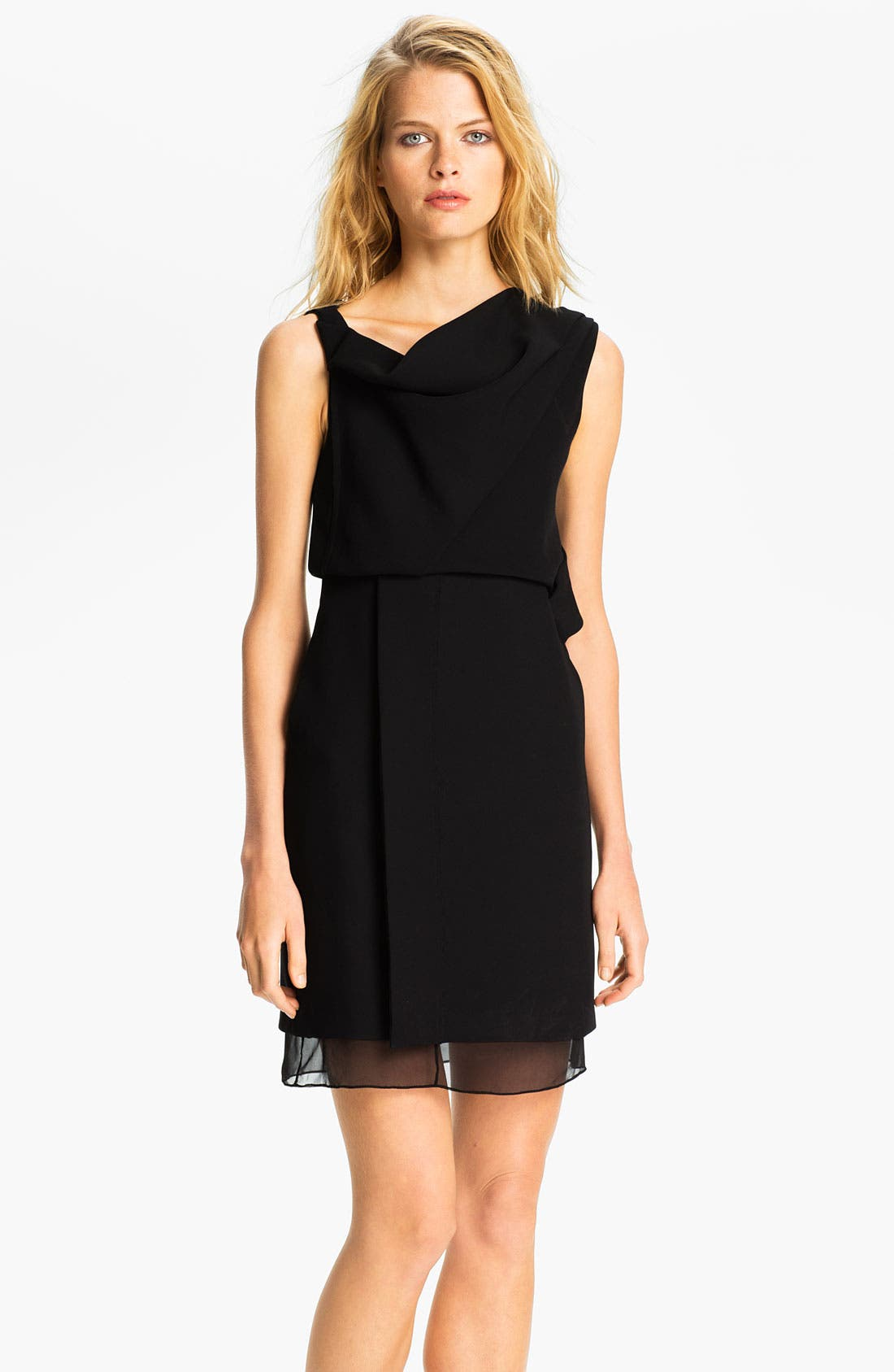 Main Image - Diane von Furstenberg 'Rendezvous' Blouson Sheath Dress