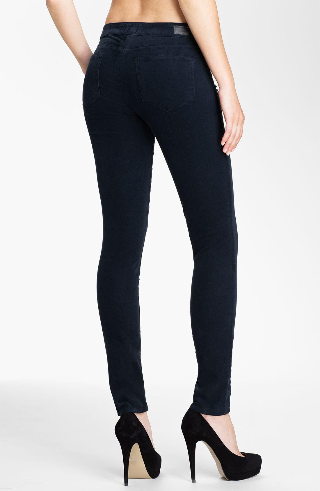 Alternate Image 2  - Paige Denim 'Verdugo' Skinny Corduroy Pants (Deep)