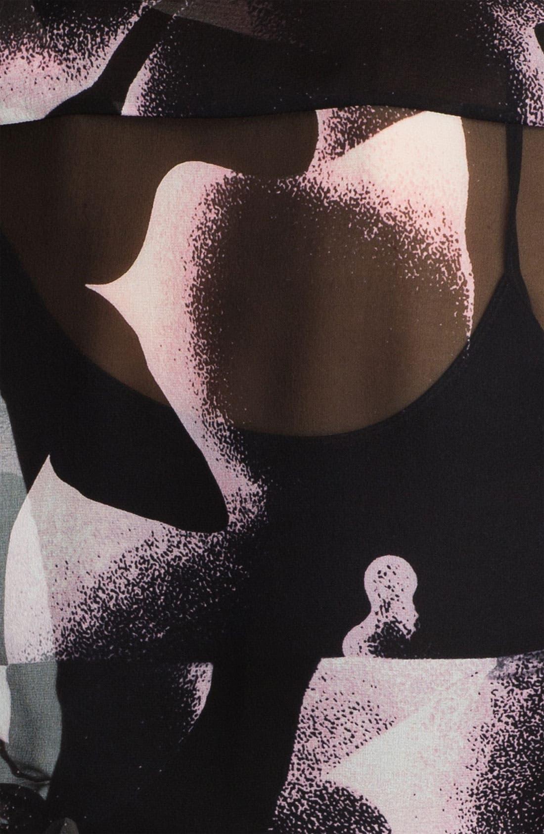 Alternate Image 3  - Diane von Furstenberg Print Silk Blouse