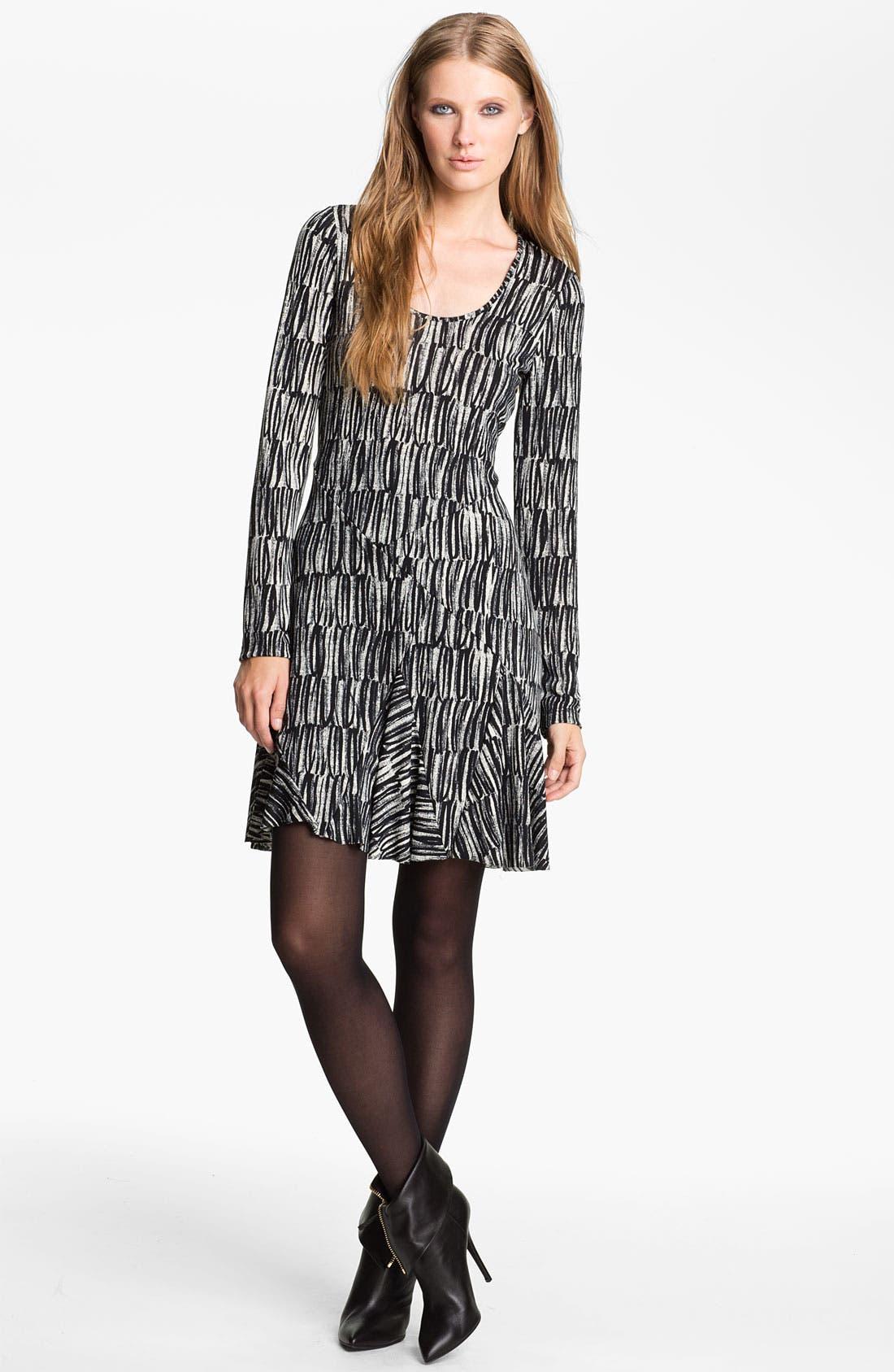 Alternate Image 1 Selected - Cut25 Print Jersey Dress
