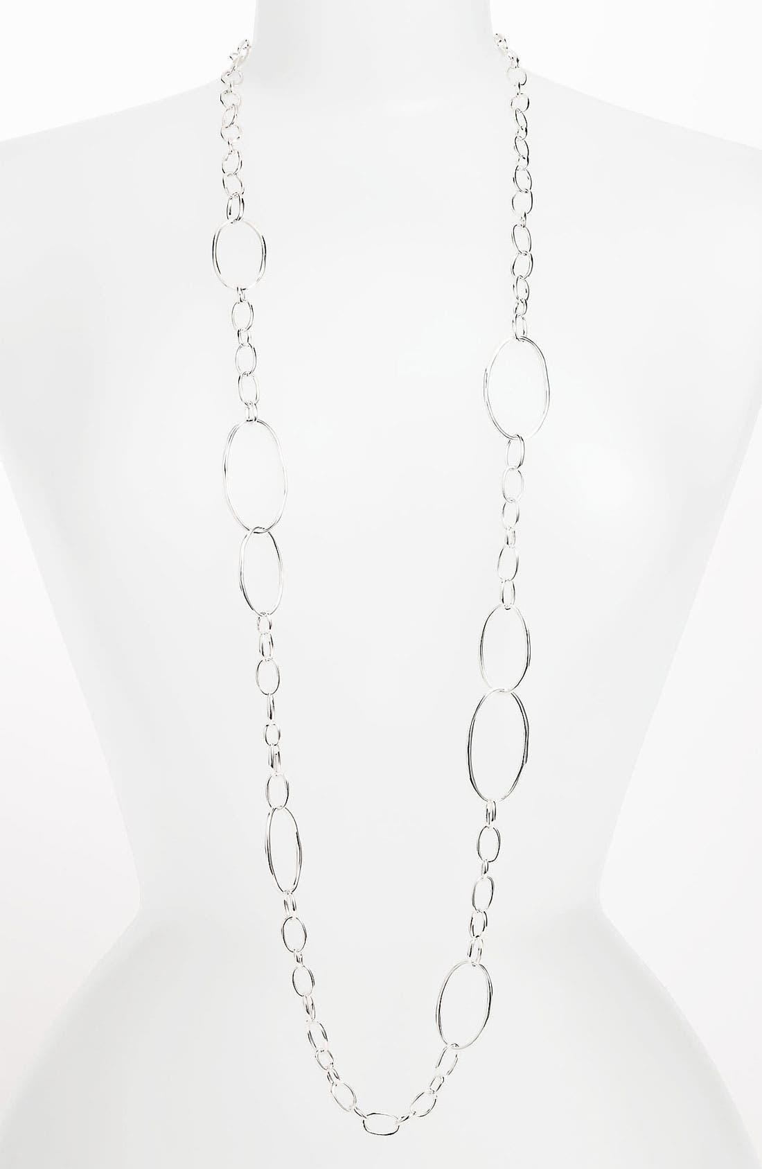 Alternate Image 1 Selected - Ippolita 'Scultura' Long Large Link Chain Necklace