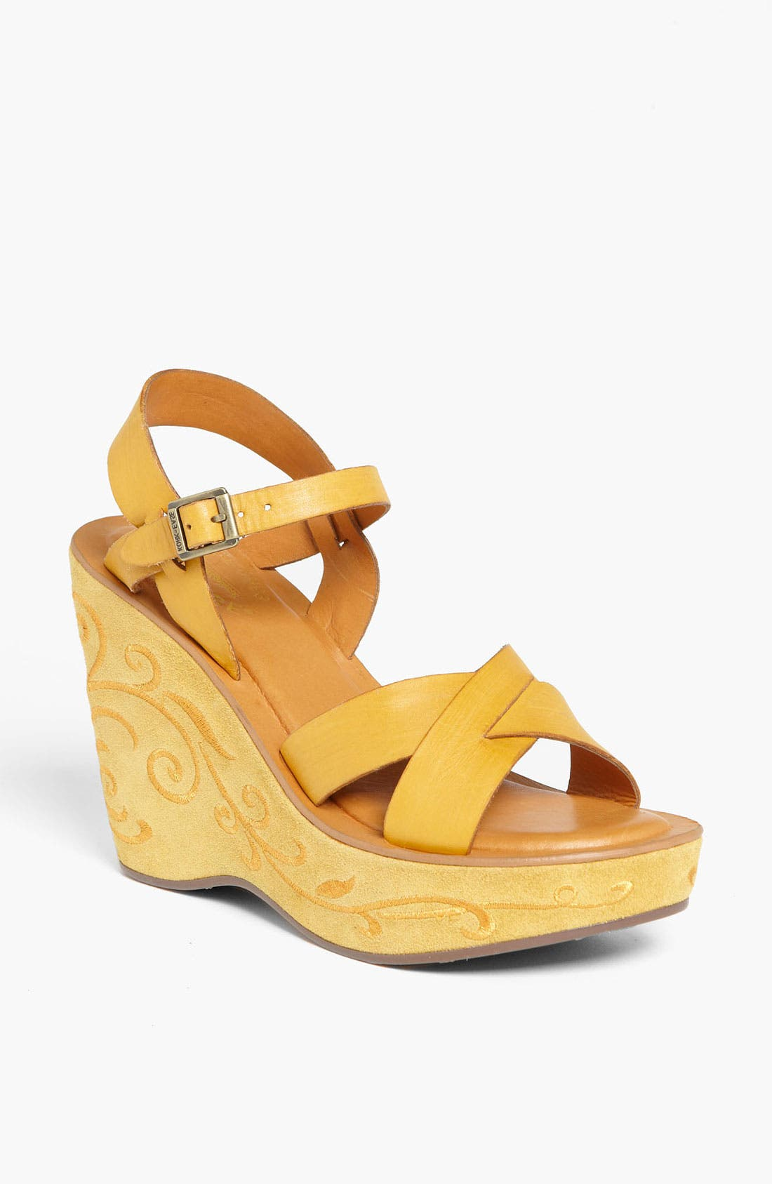 Alternate Image 1 Selected - Kork-Ease 'Bette' Wedge Sandal