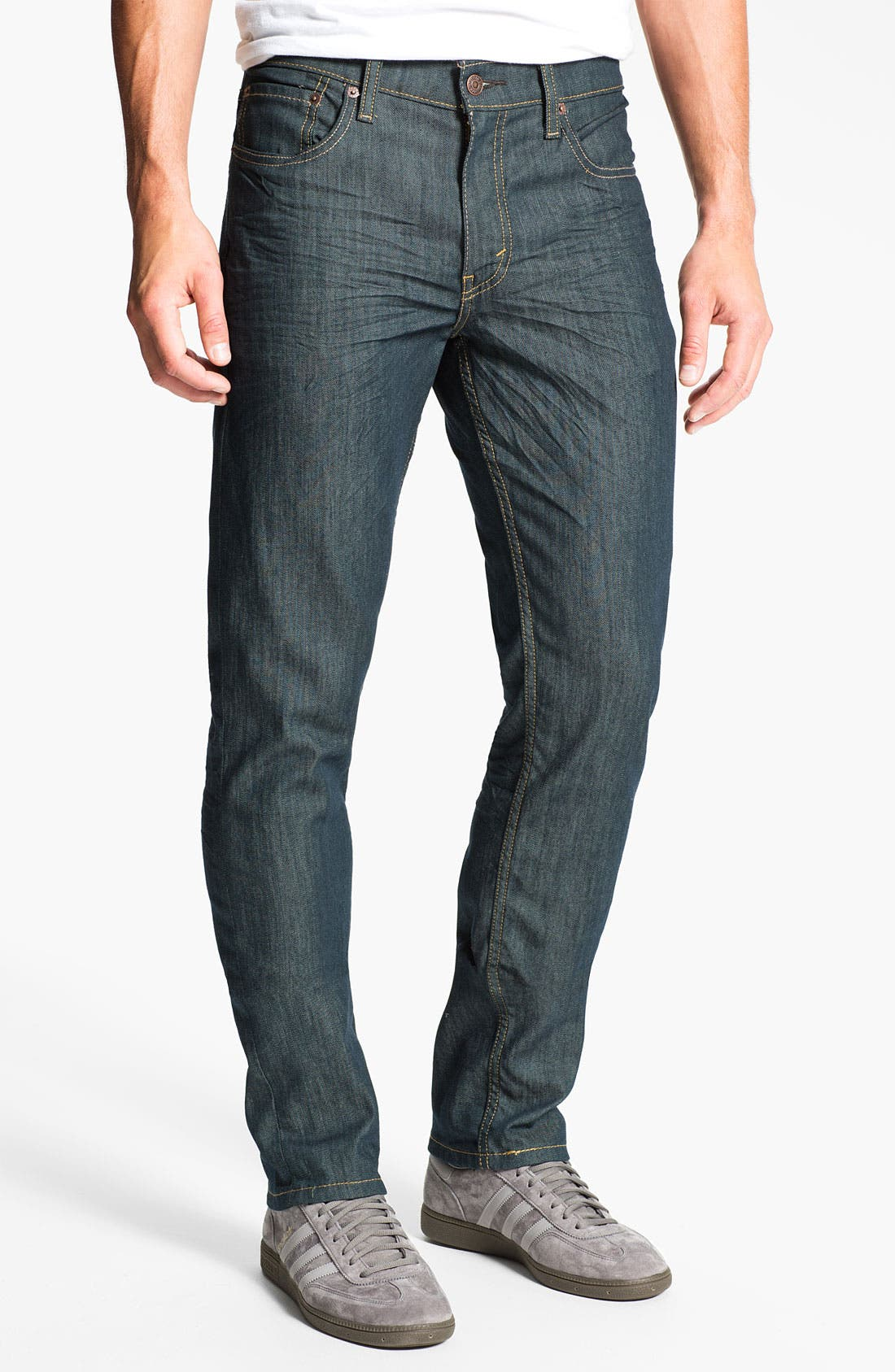Alternate Image 2  - Levi's® '511™' Skinny Leg Jeans (Rinsed Playa)
