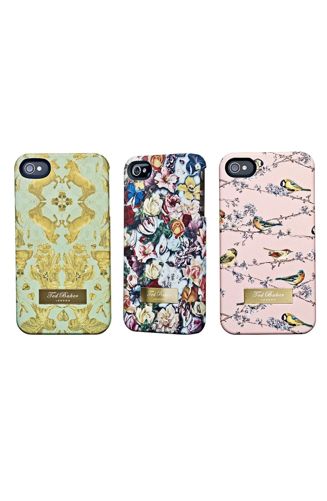 Alternate Image 2  - Ted Baker London 'Equestrian Print' iPhone 4 Case