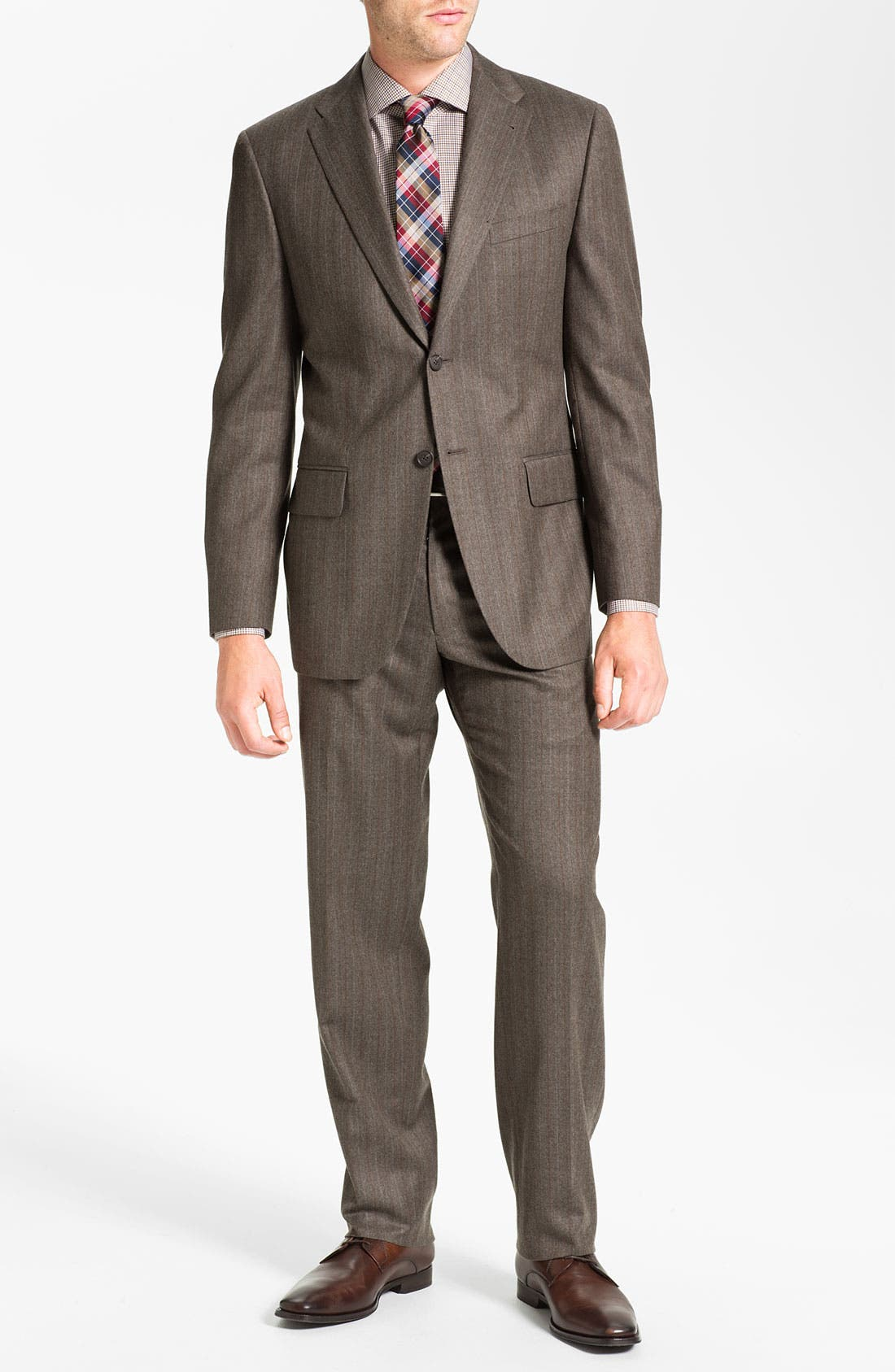 Alternate Image 2  - Joseph Abboud 'Profile' Stripe Wool Suit