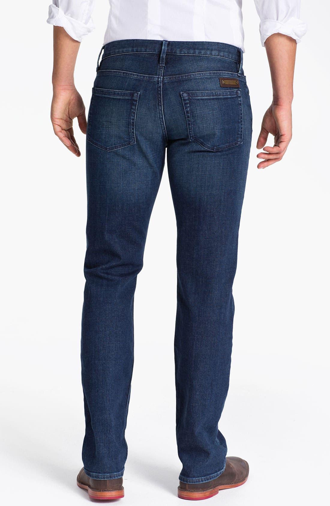 Alternate Image 2  - Burberry Brit 'Cavendish' Straight Leg Jeans (Denim Blue)