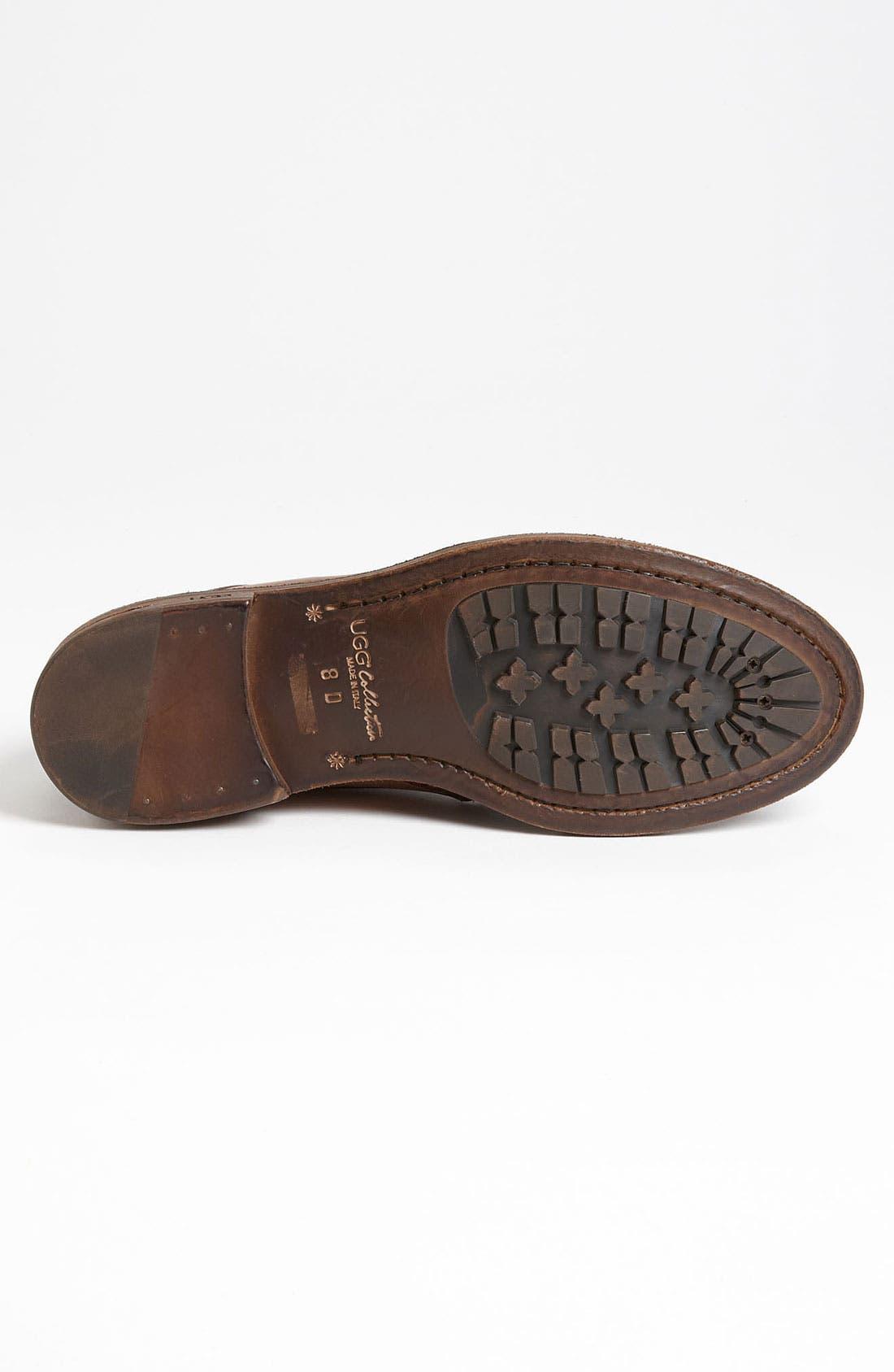 Alternate Image 4  - UGG® Collection 'Allcott' Spectator Shoe (Men)