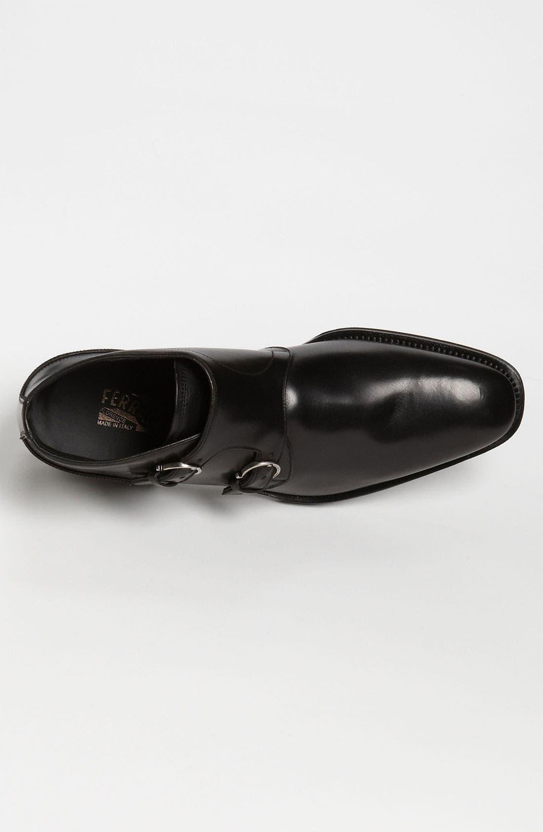 Alternate Image 3  - Salvatore Ferragamo 'Arezzo' Double Monk Strap Boot