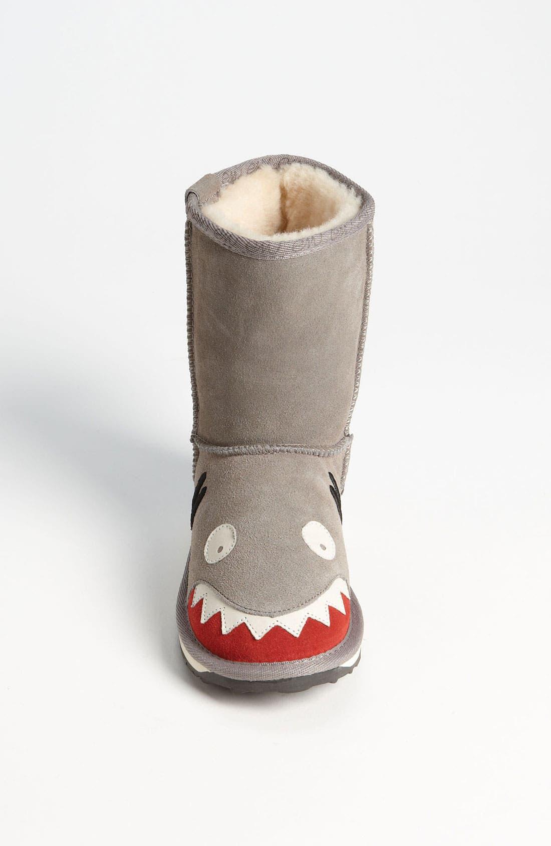 Alternate Image 3  - EMU Australia 'Little Creatures - Shark' Boot (Toddler, Little Kid & Big Kid)