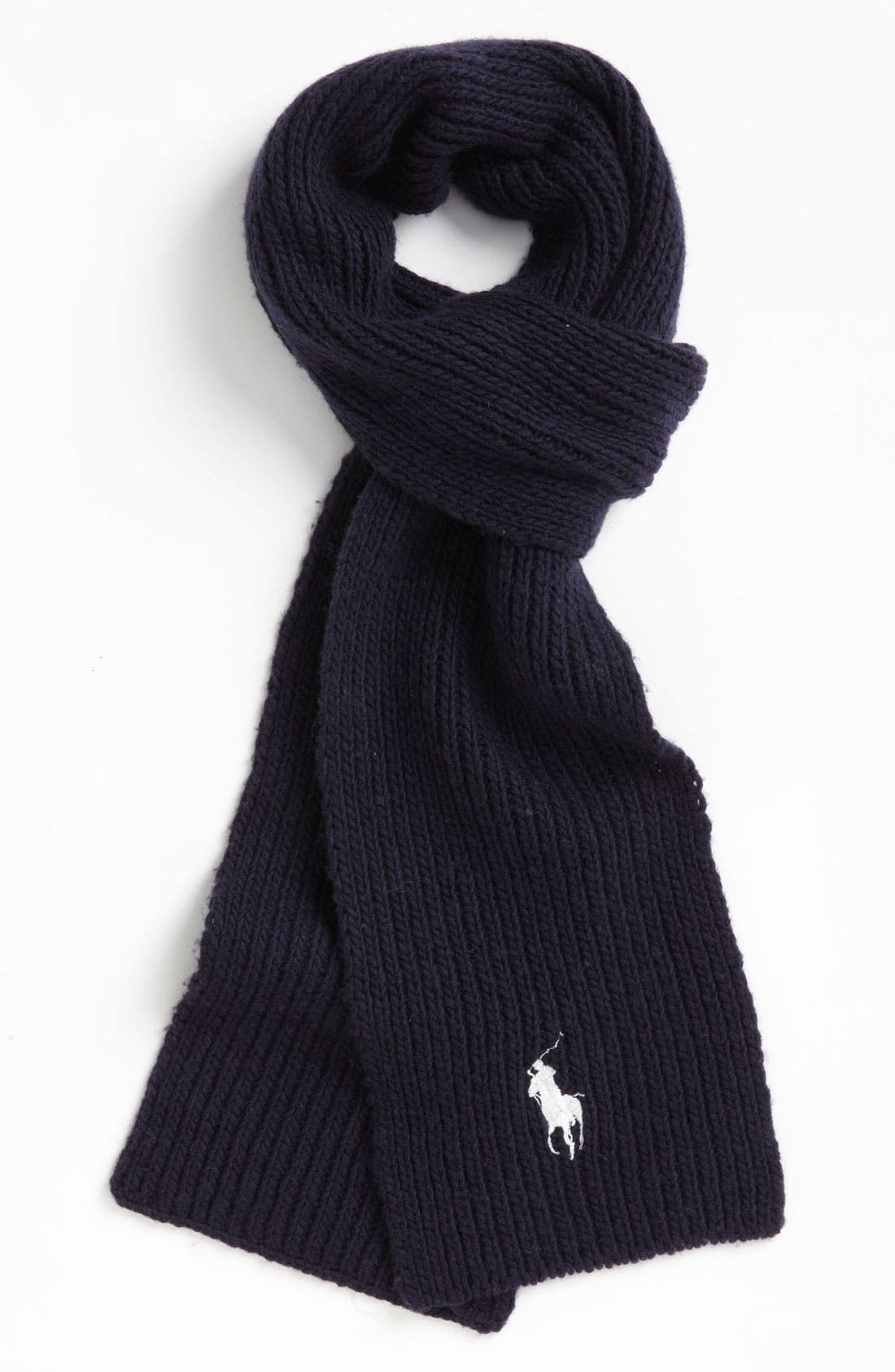 Alternate Image 1 Selected - Polo Ralph Lauren Wool & Cashmere Blend Scarf