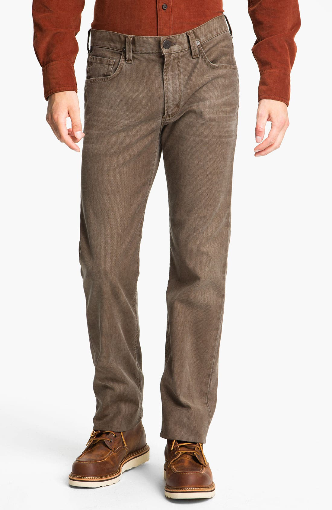Alternate Image 1 Selected - Citizens of Humanity 'Sid' Straight Leg Pants (Mahogany)