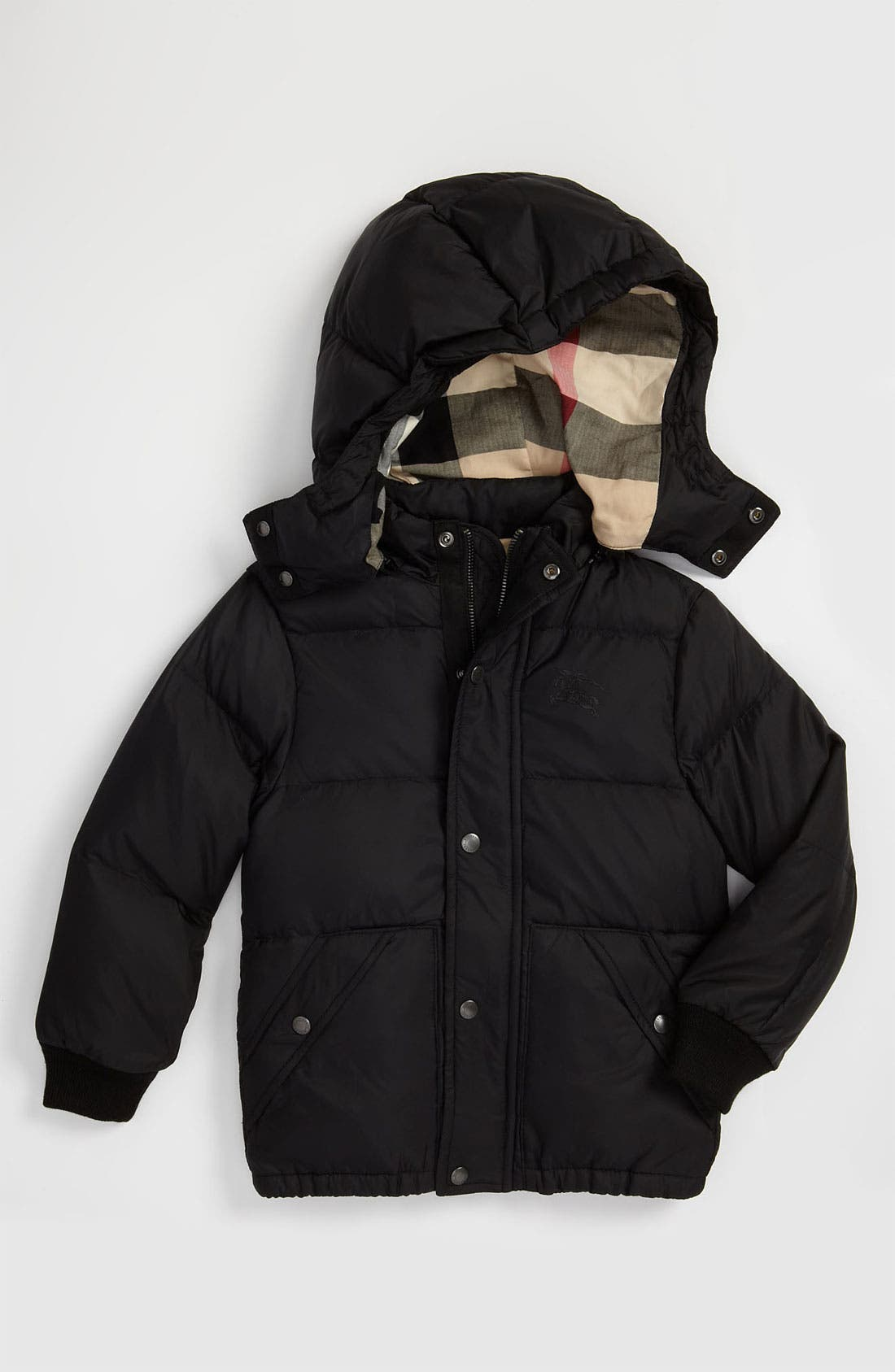 Main Image - Burberry Down Filled Puffer Jacket (Big Boys)