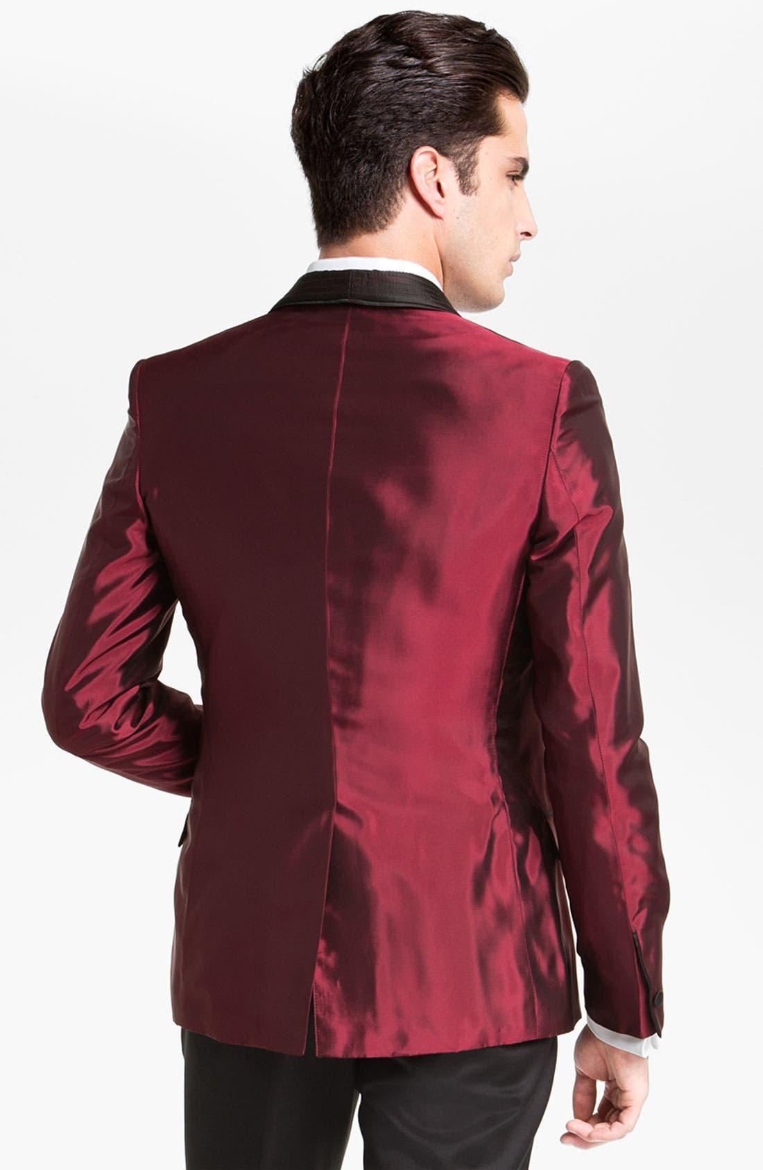 Alternate Image 2  - Versace Trim Fit Dinner Jacket