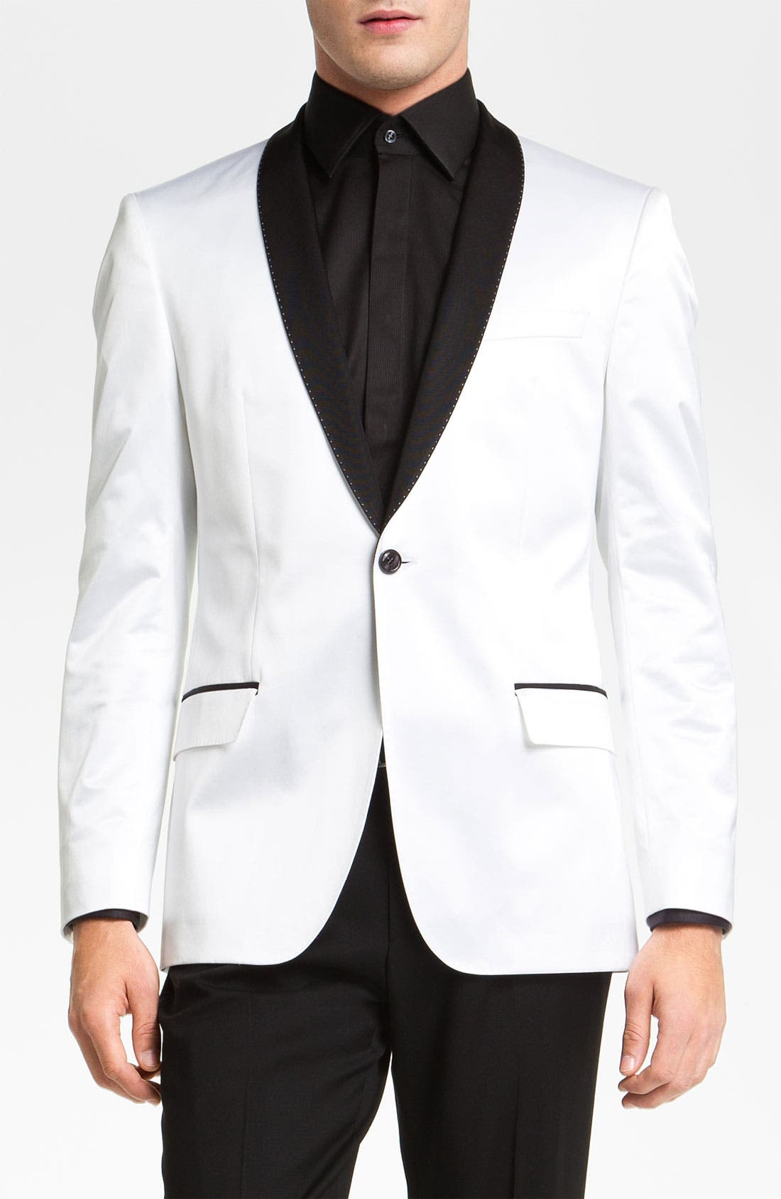 Alternate Image 1 Selected - BOSS Black 'Hyatt' Shawl Collar Dinner Jacket