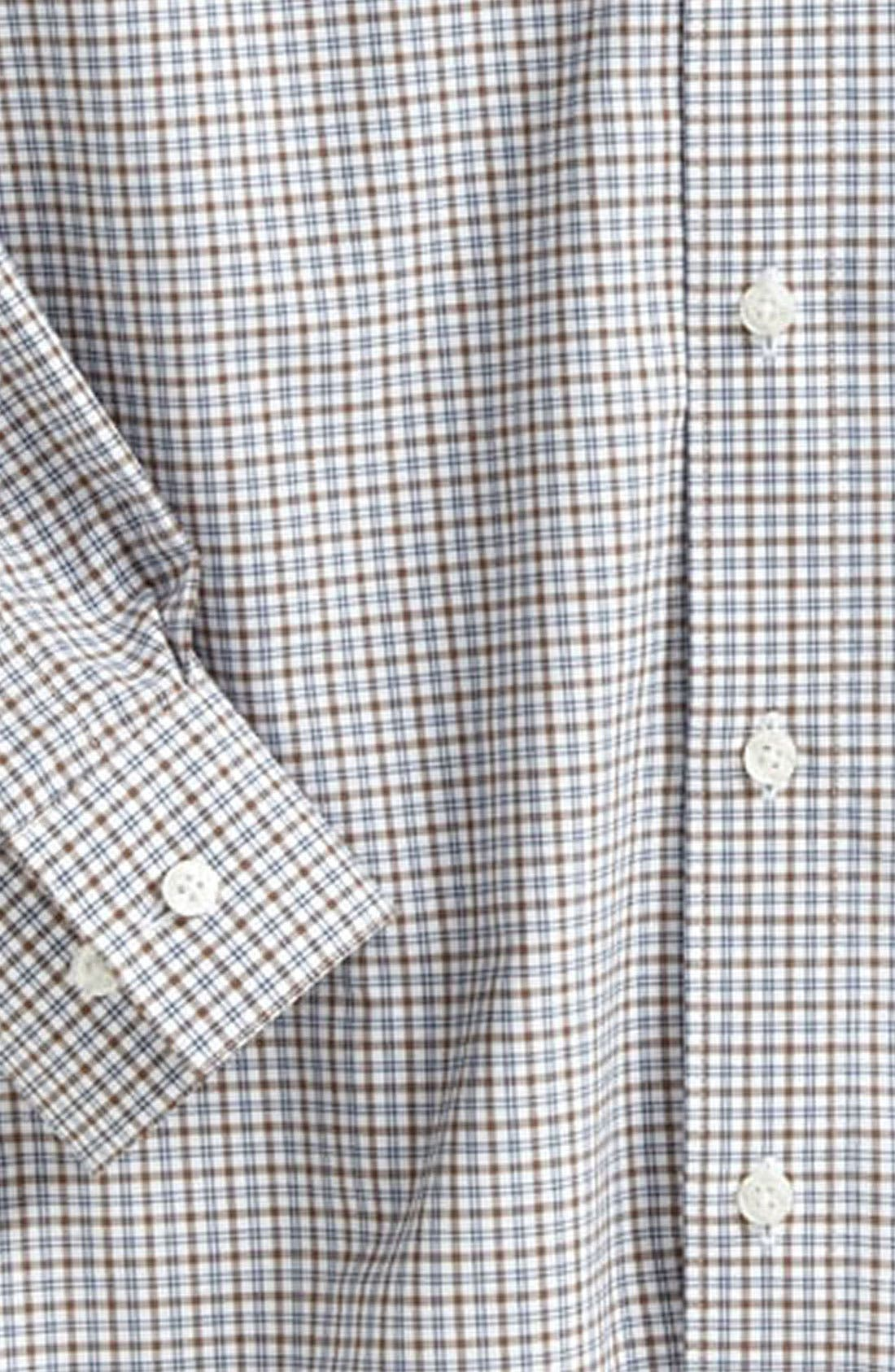 Alternate Image 2  - Nordstrom Gingham Dress Shirt (Little Boys)
