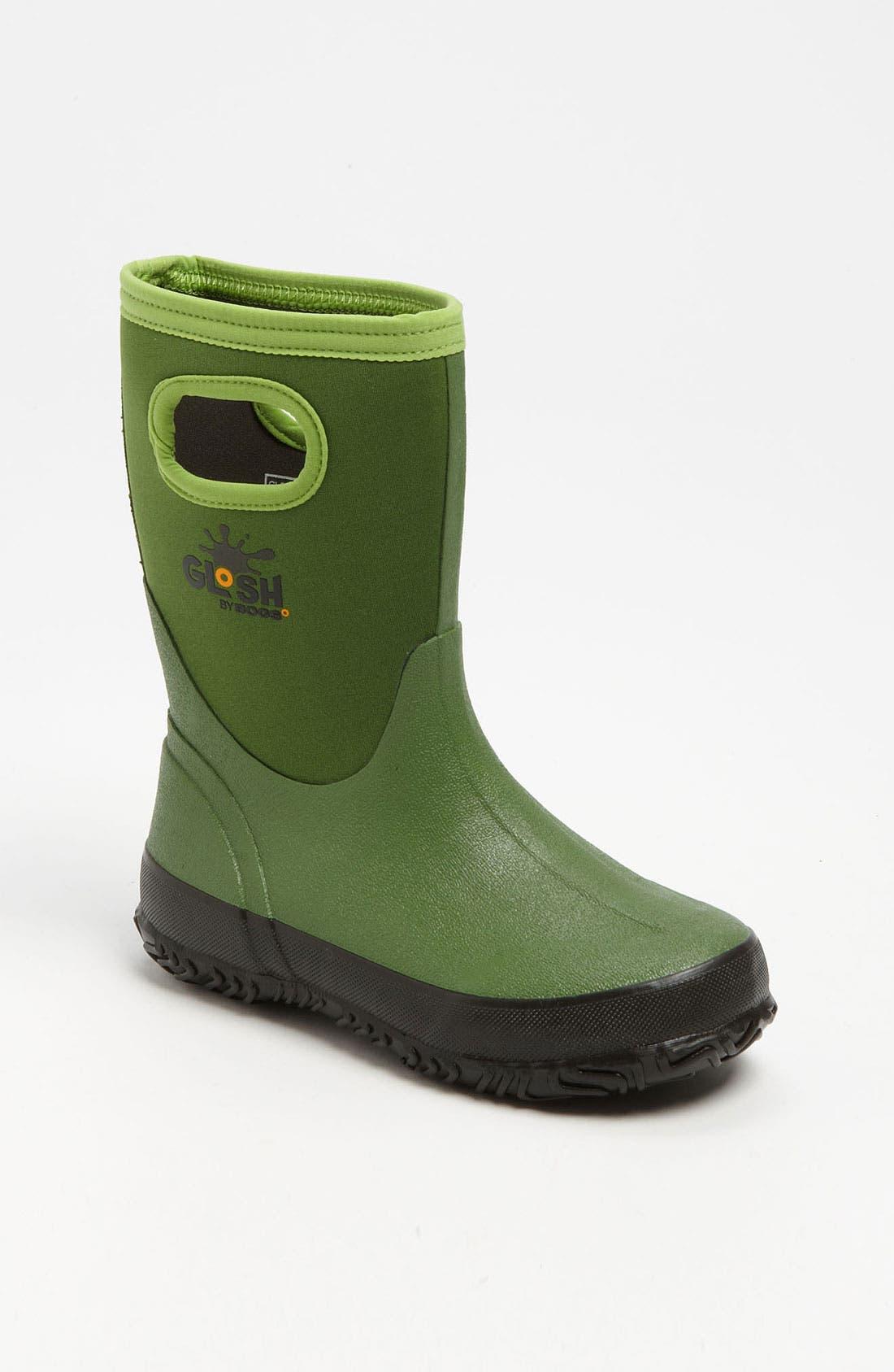 Alternate Image 1 Selected - Bogs 'Glosh' Rain Boot (Toddler, Little Kid & Big Kid)