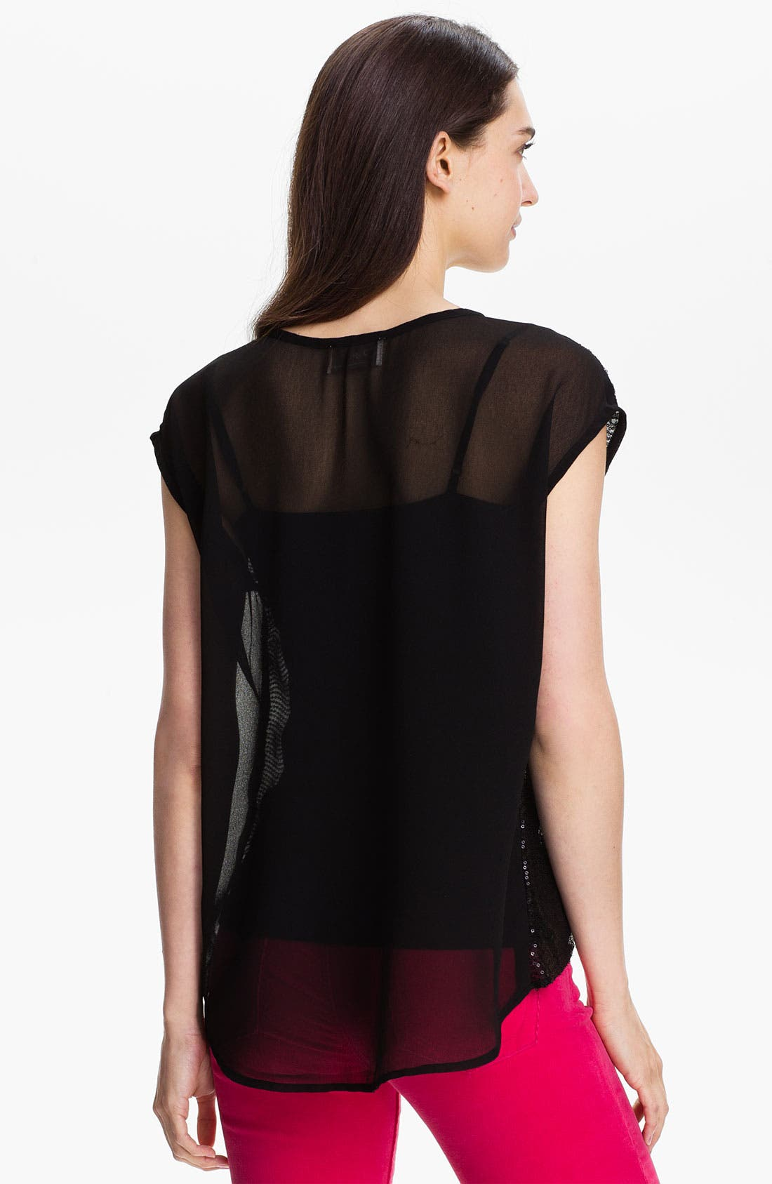 Alternate Image 2  - Research & Design Sequin Front Top