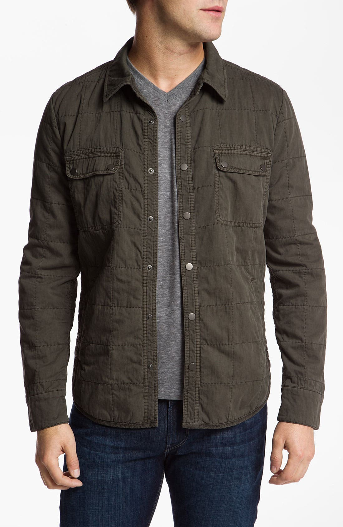 Alternate Image 1 Selected - 7 For All Mankind® Quilted Jacket